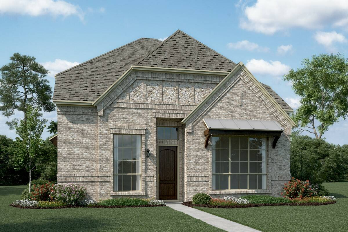 Cornerstone R new homes dallas texas