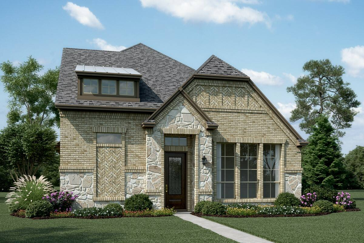 Cornerstone S Stone new homes dallas texas