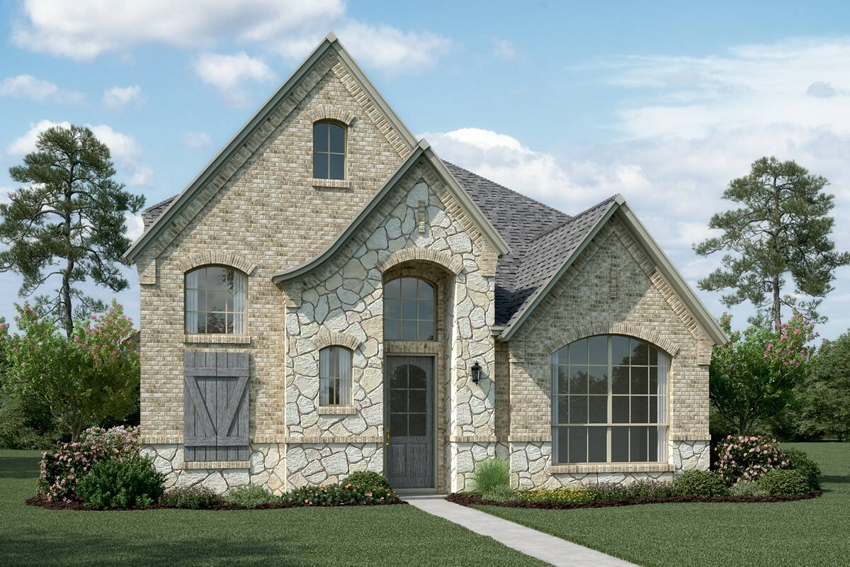 Cornerstone T Stone new homes dallas texas