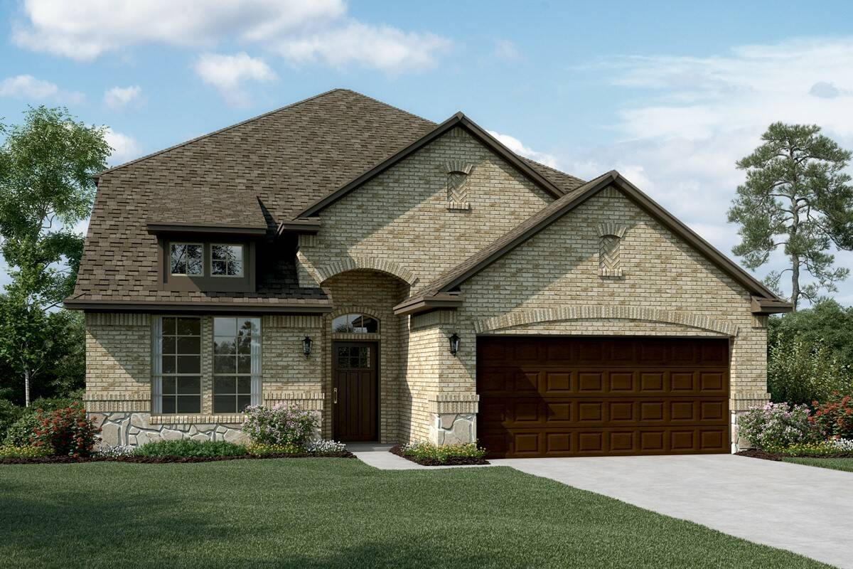 Coronado II C Stone new homes dallas texas