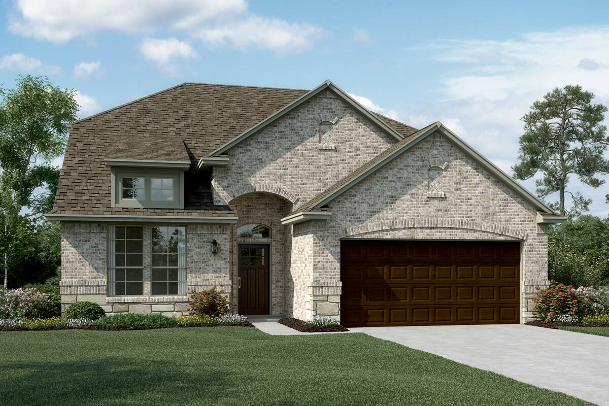 Coronado III C Stone new homes dallas texas