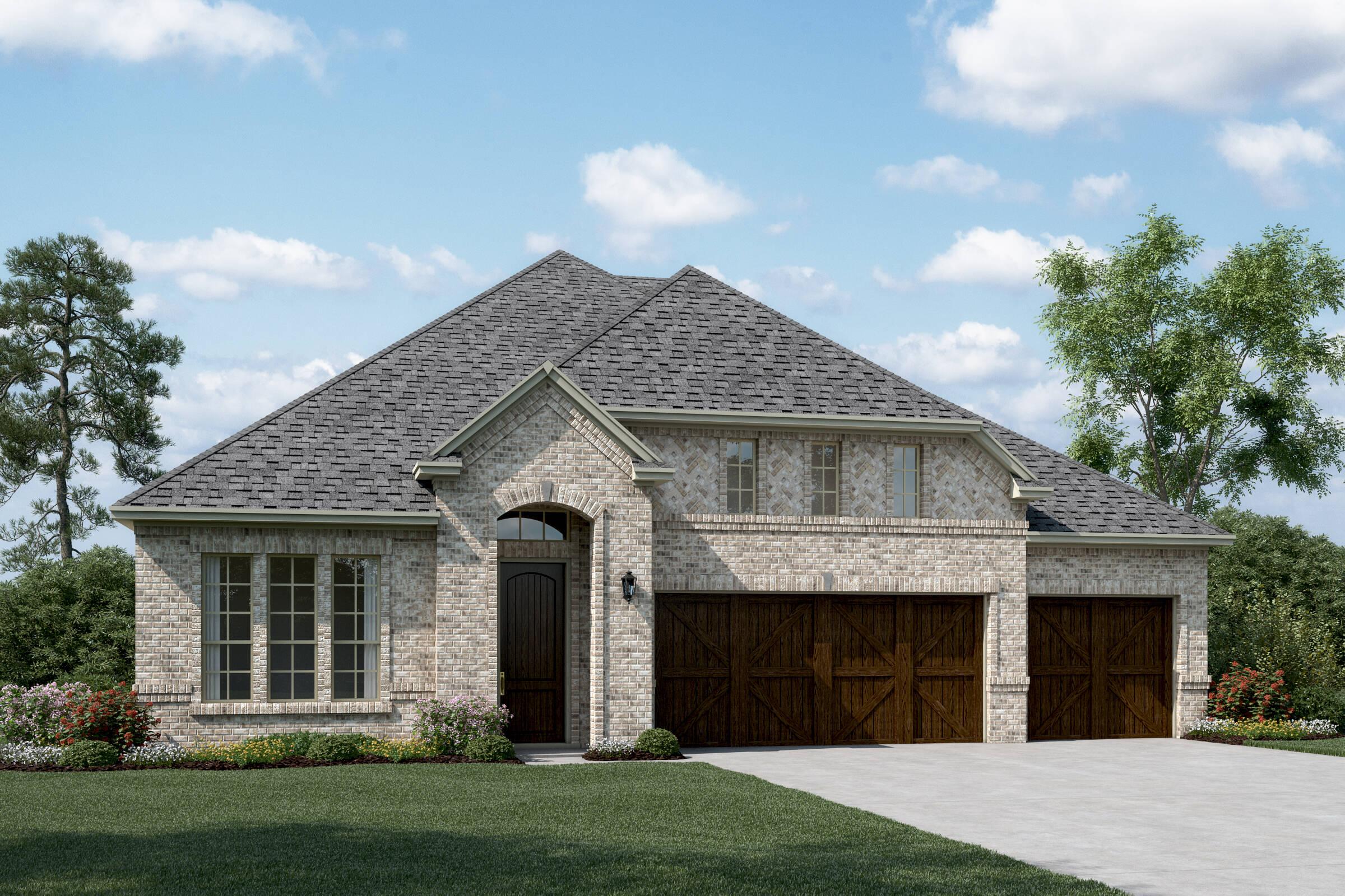 Danbury III C new homes dallas texas