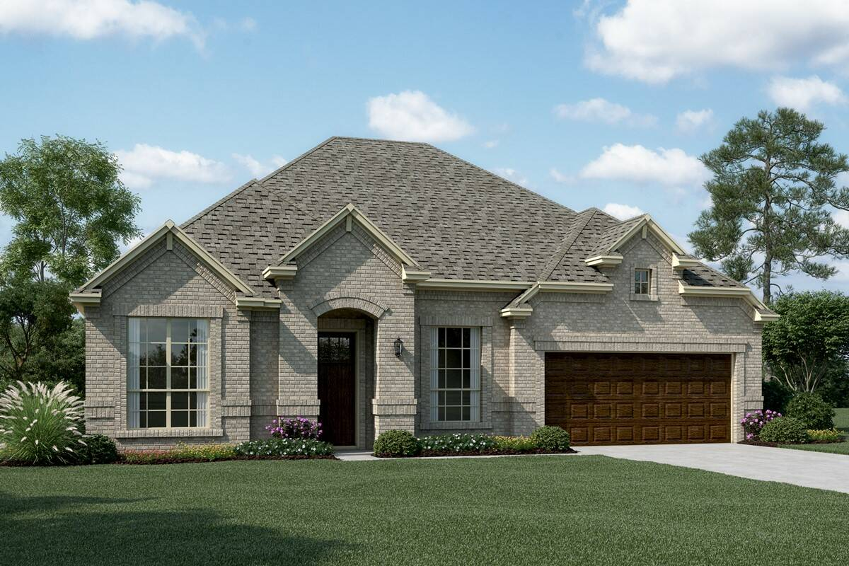 Danbury V C new homes dallas tx