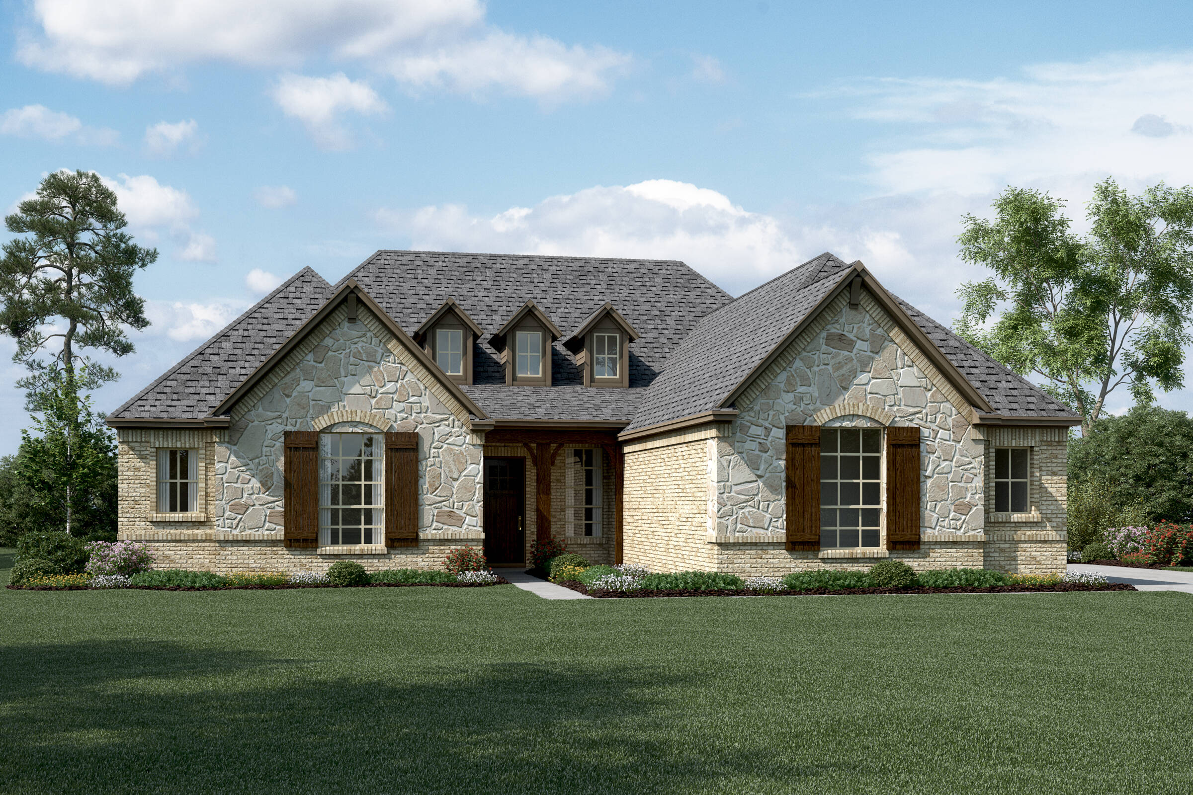 Dawson L Stone new homes dallas tx