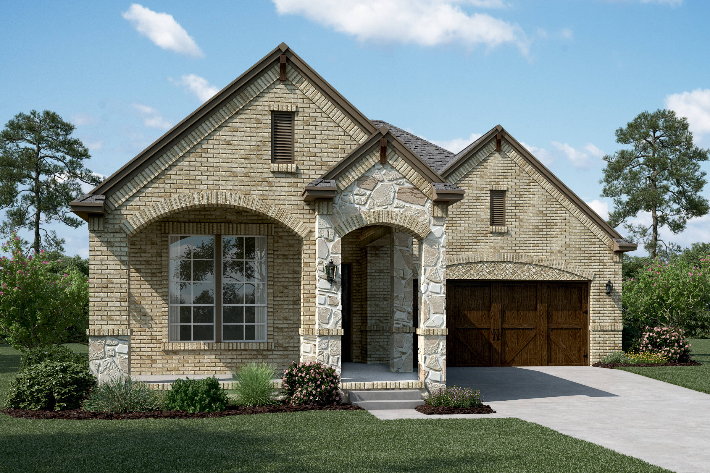 Daytona B Stone new homes dallas tx
