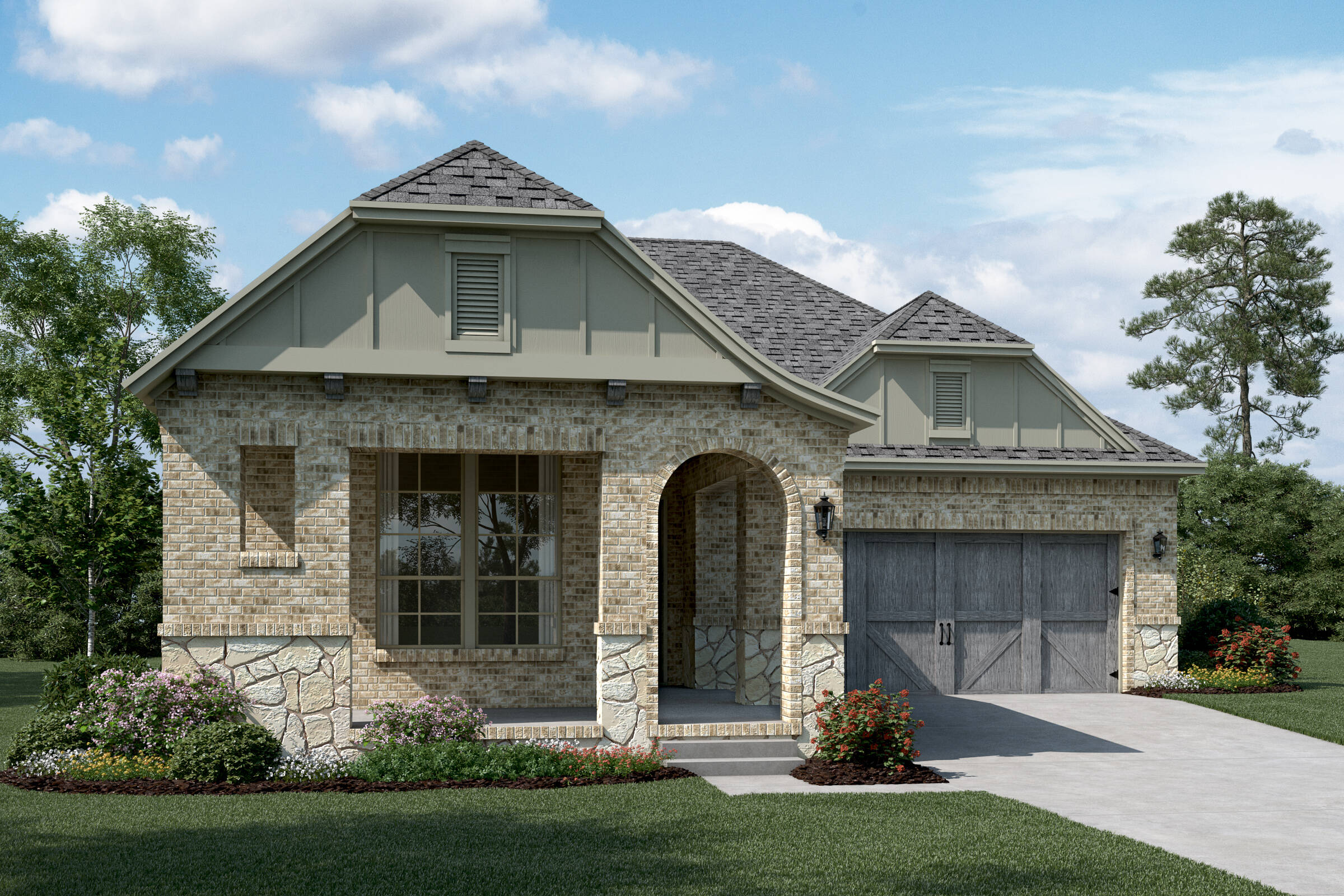 Daytona C Stone new homes dallas tx