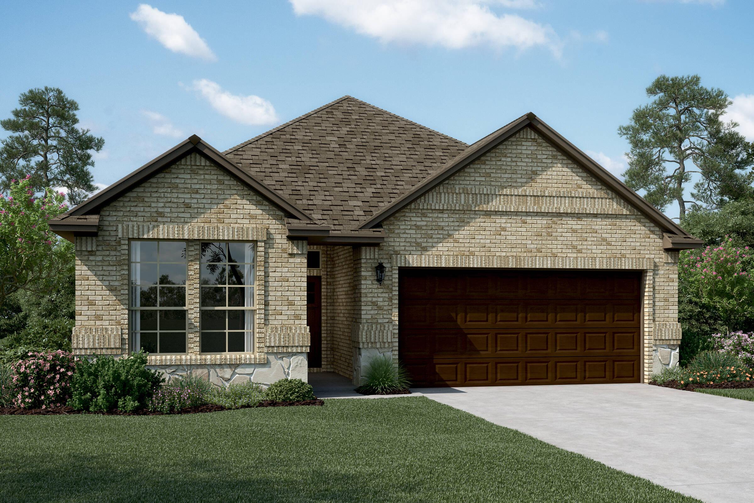 Easton II B Stone new homes dallas tx