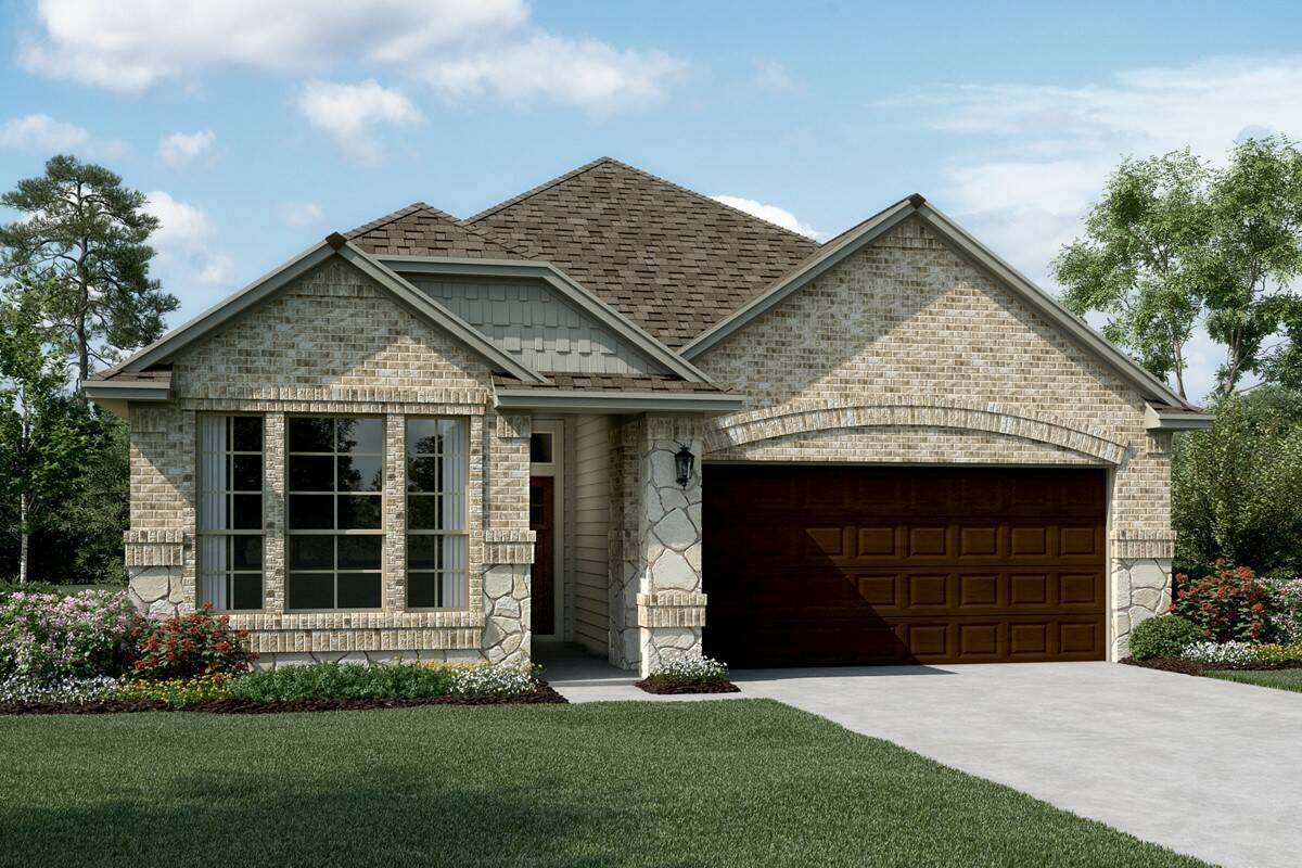 Easton II C Stone new homes dallas tx
