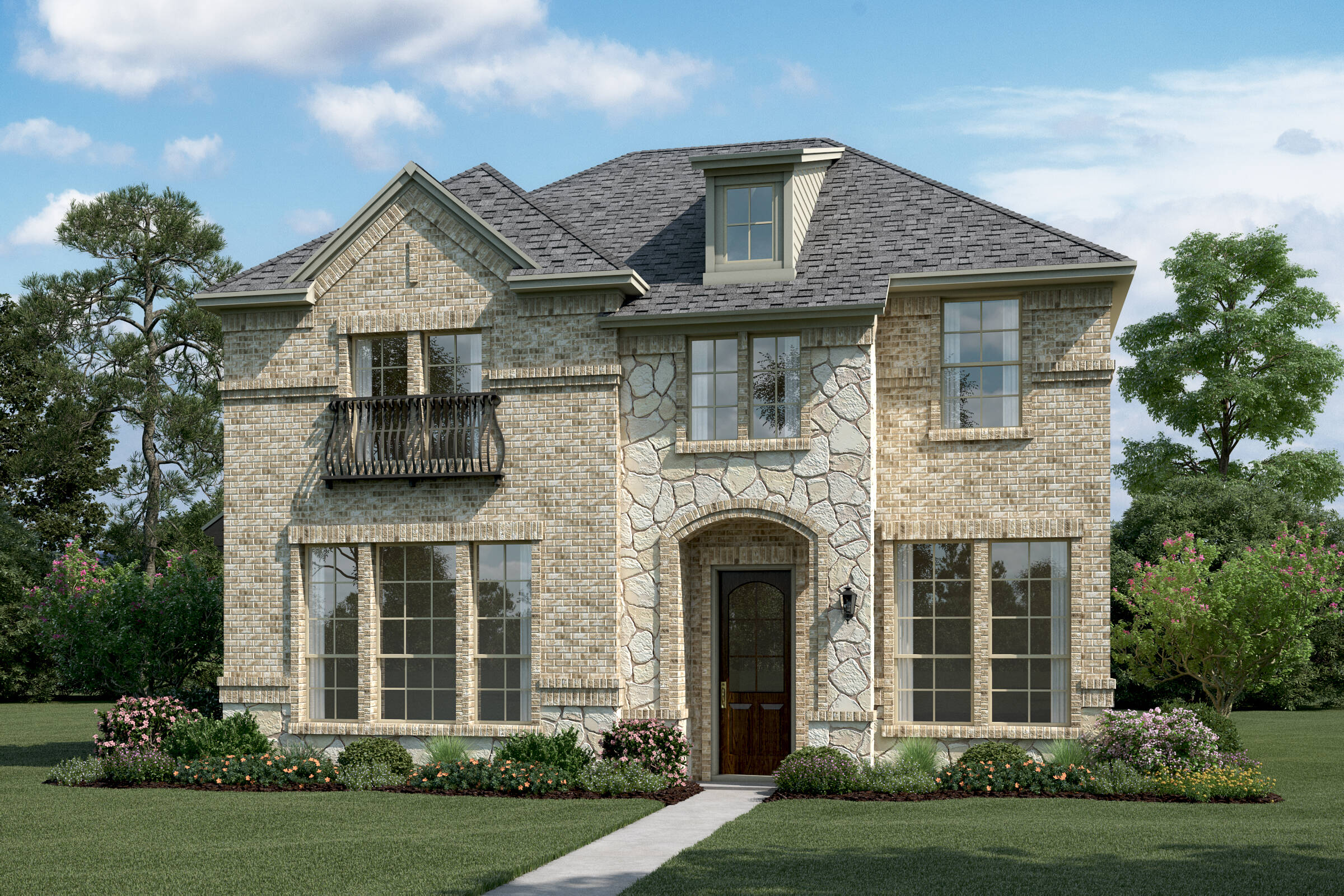 glenchester-t-stone-elev-new-homes-near-dallas