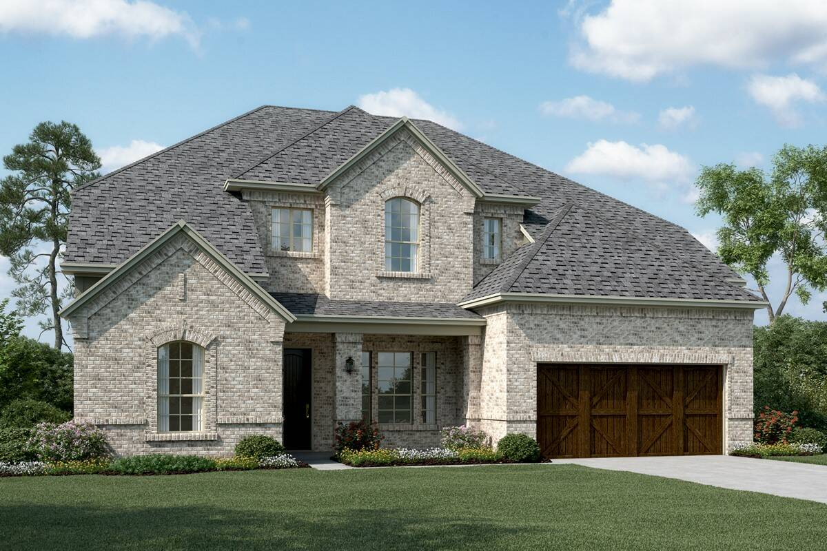 Graystone III C new homes dallas texas