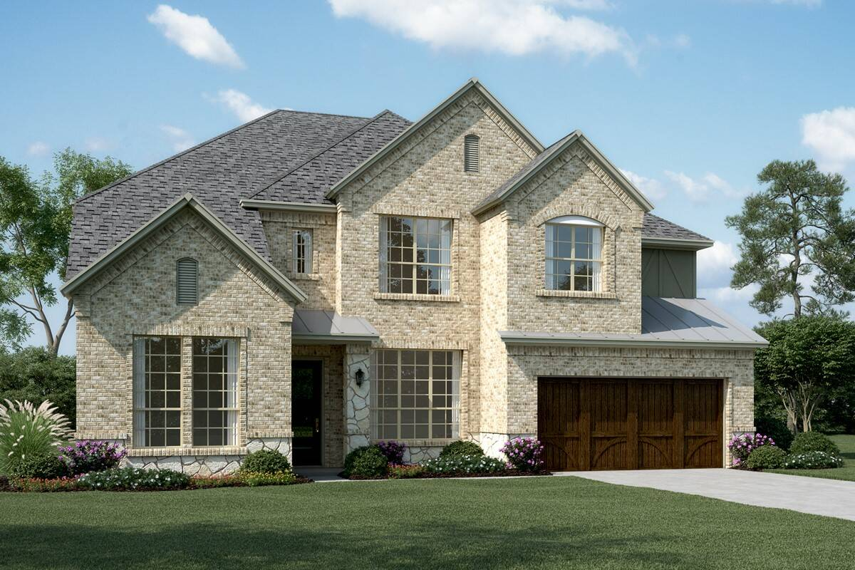 Graystone III D Stone new homes dallas texas