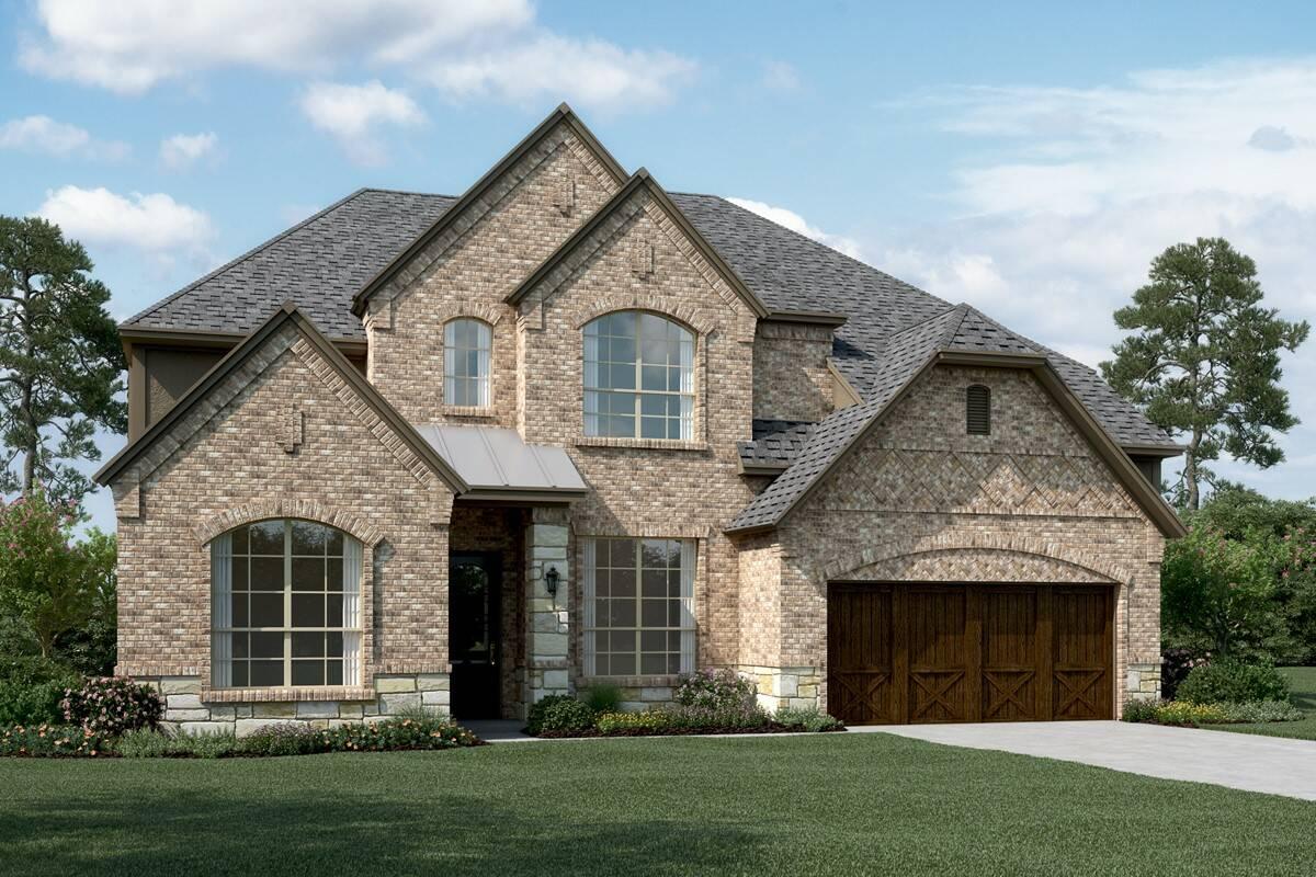 Graystone III E Stone new homes dallas texas