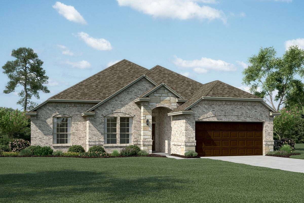 Kendall II B Stone new homes dallas tx