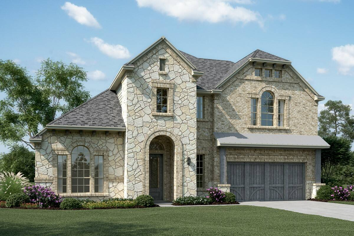 Kingswood III D Stone new homes dallas texas