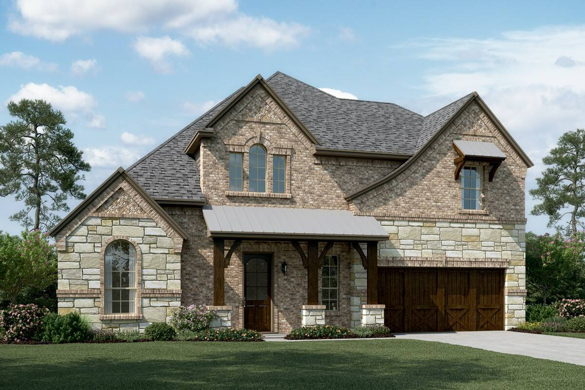 Kingswood III E Stone new homes dallas texas