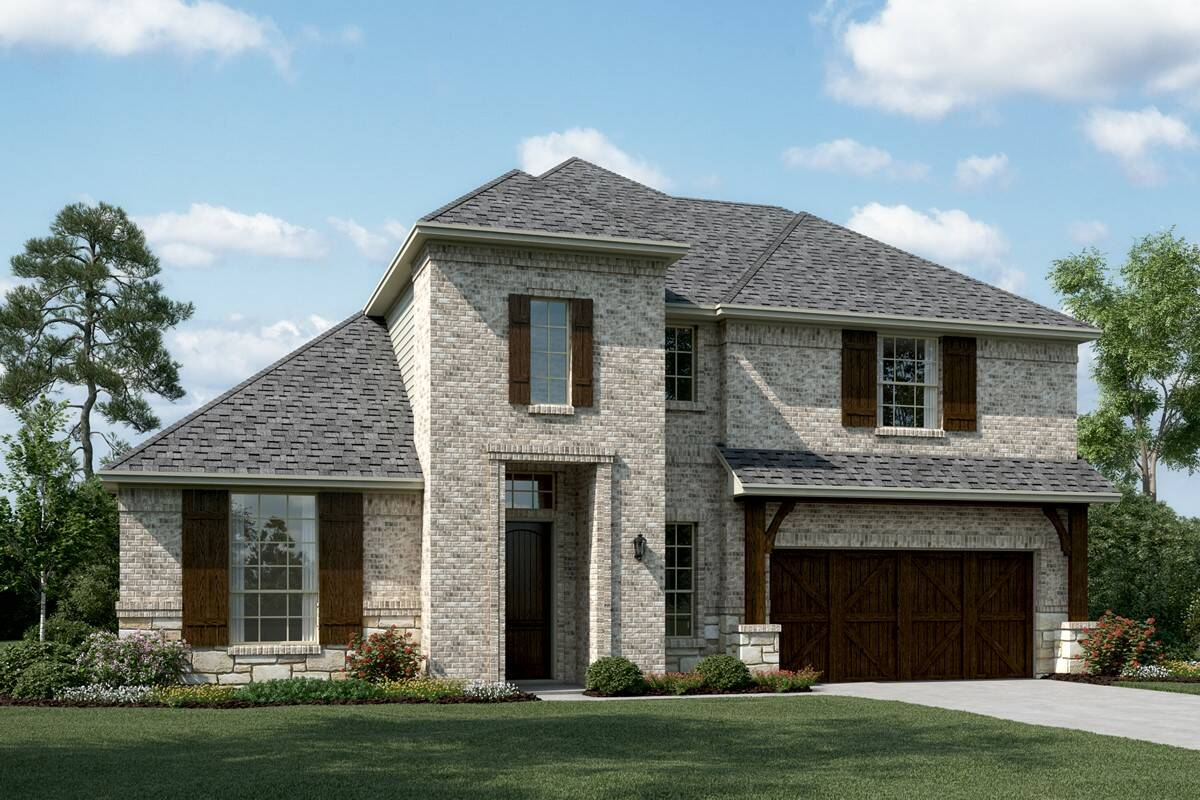 Kingswood III C Stone new homes dallas texas