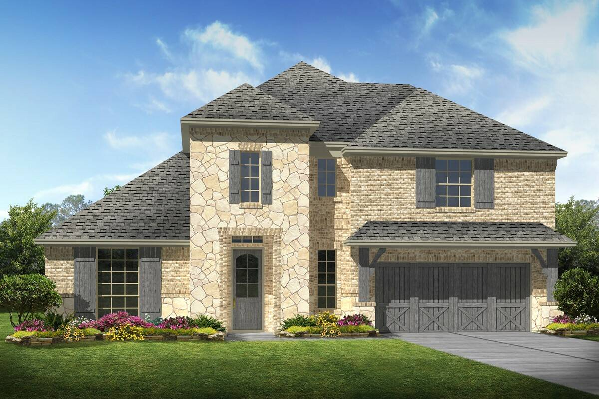 Kingswood II C Stone new homes dallas texas