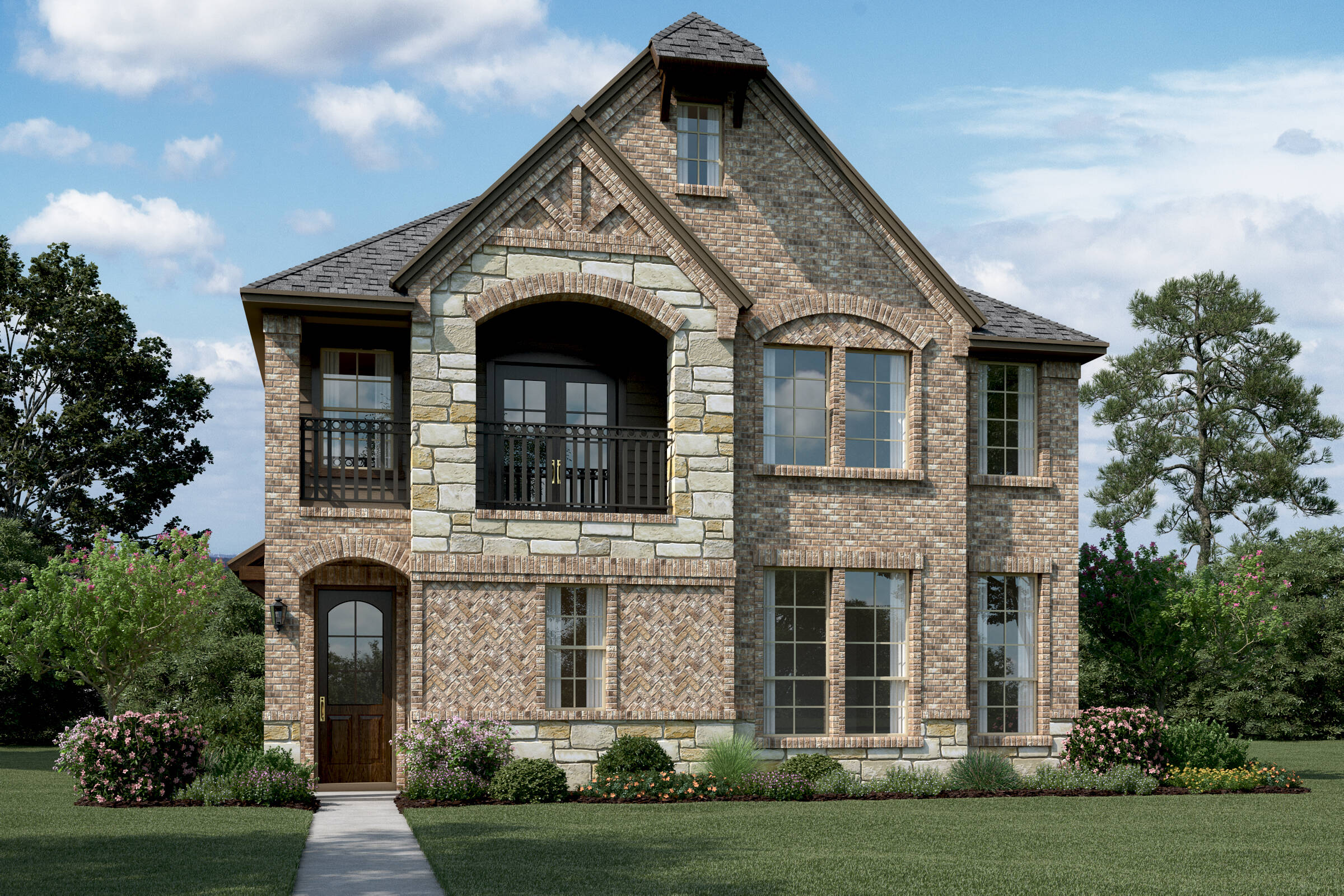Kirkwood II T Stone new homes Dallas Tx