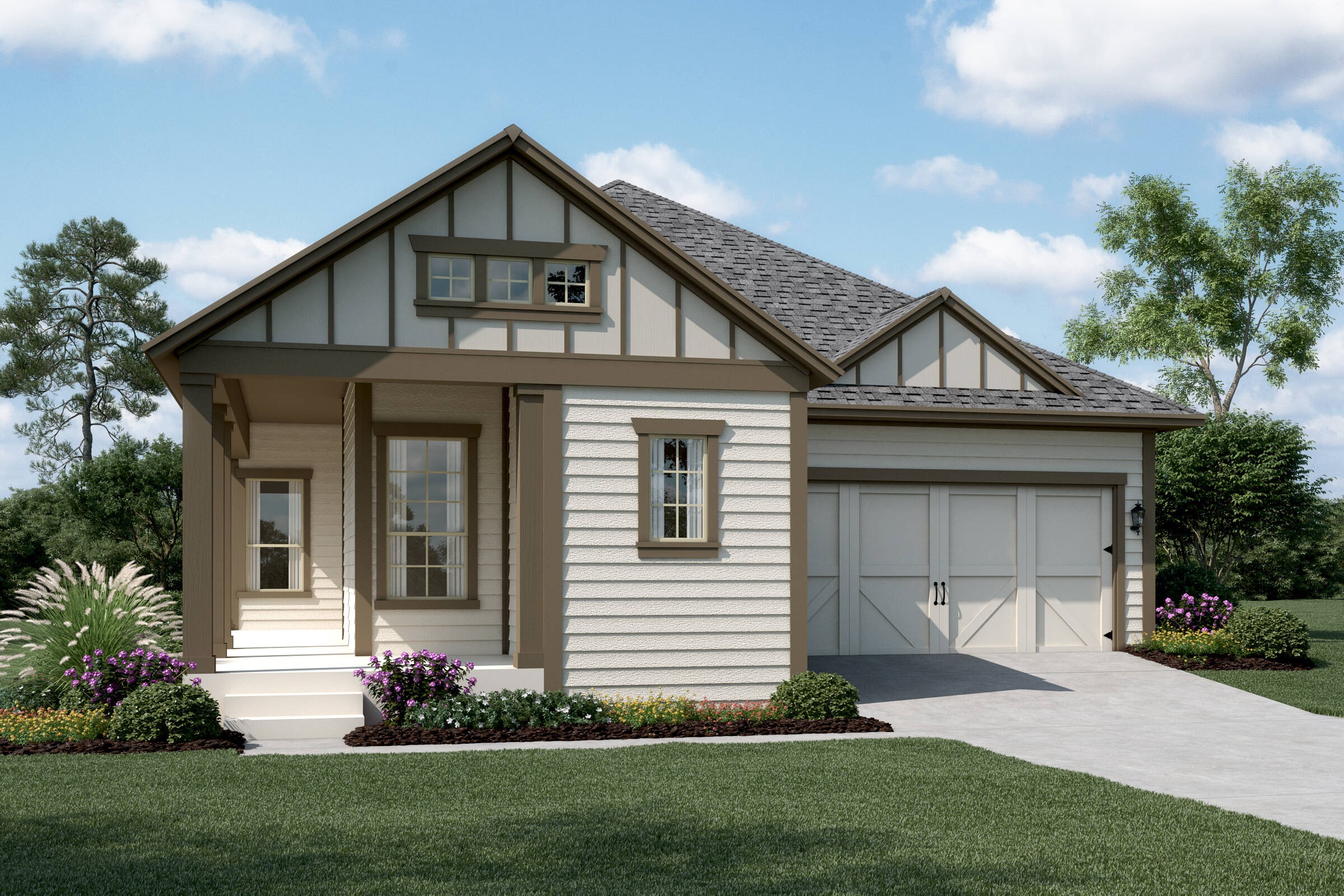 Laguna A Siding new homes dallas tx