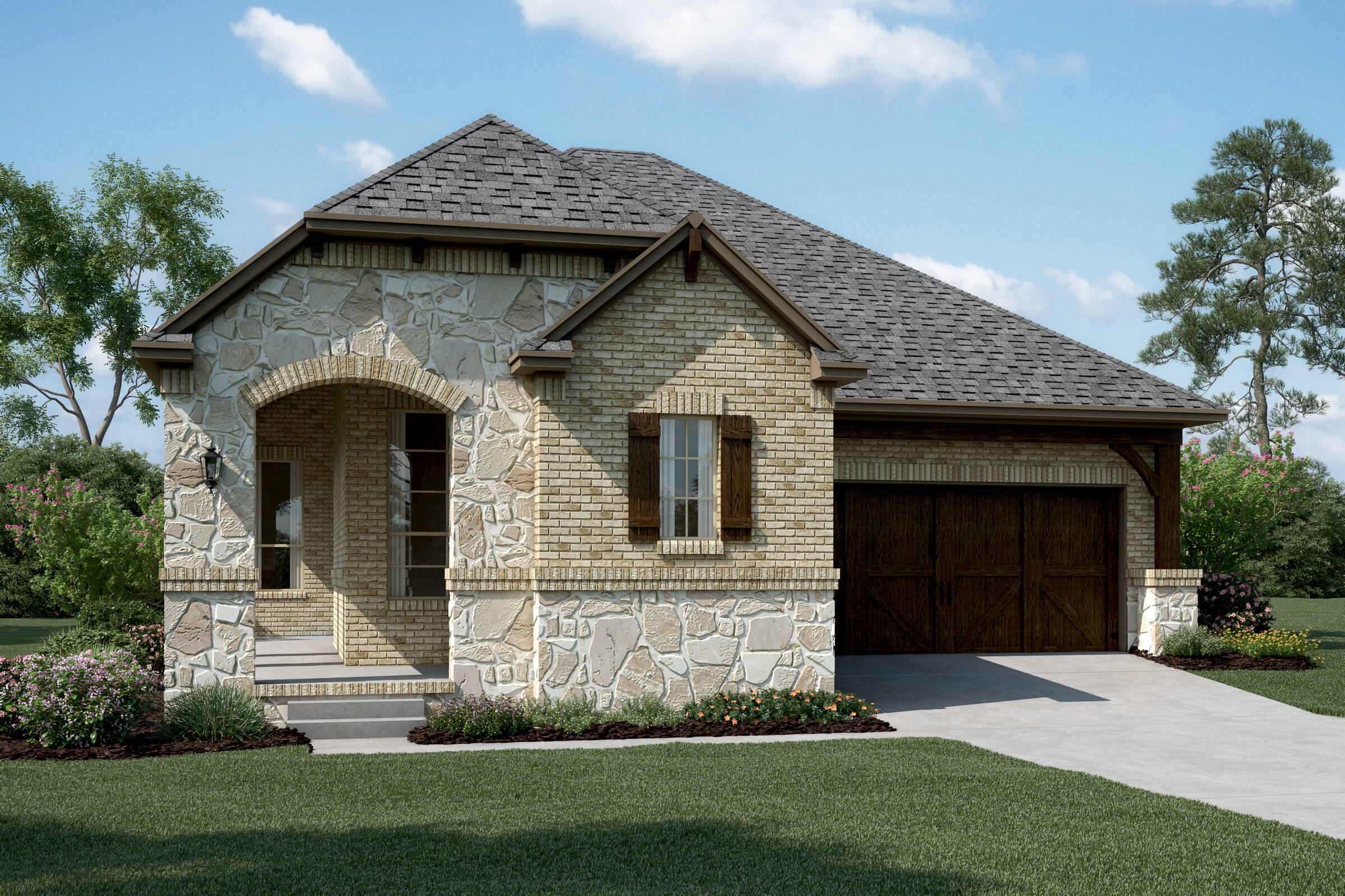 Laguna B Stone new homes dallas tx