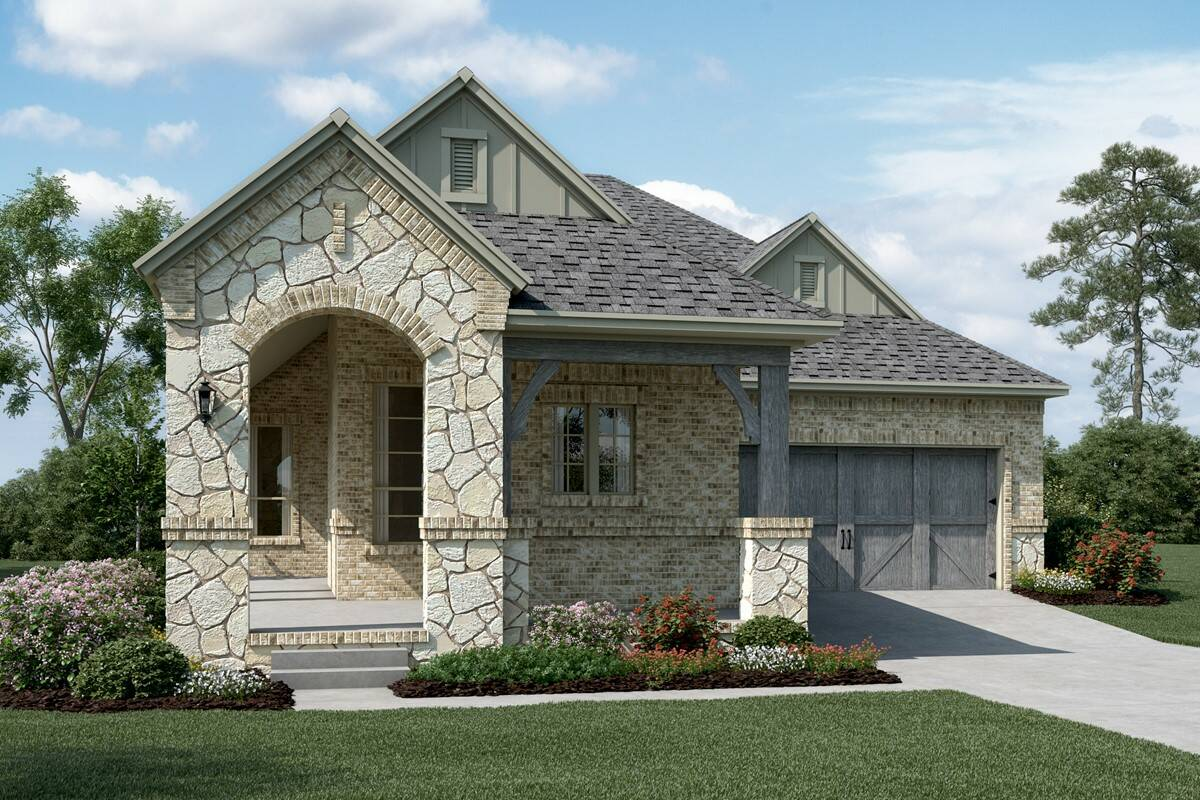 Laguna C Stone new homes dallas tx