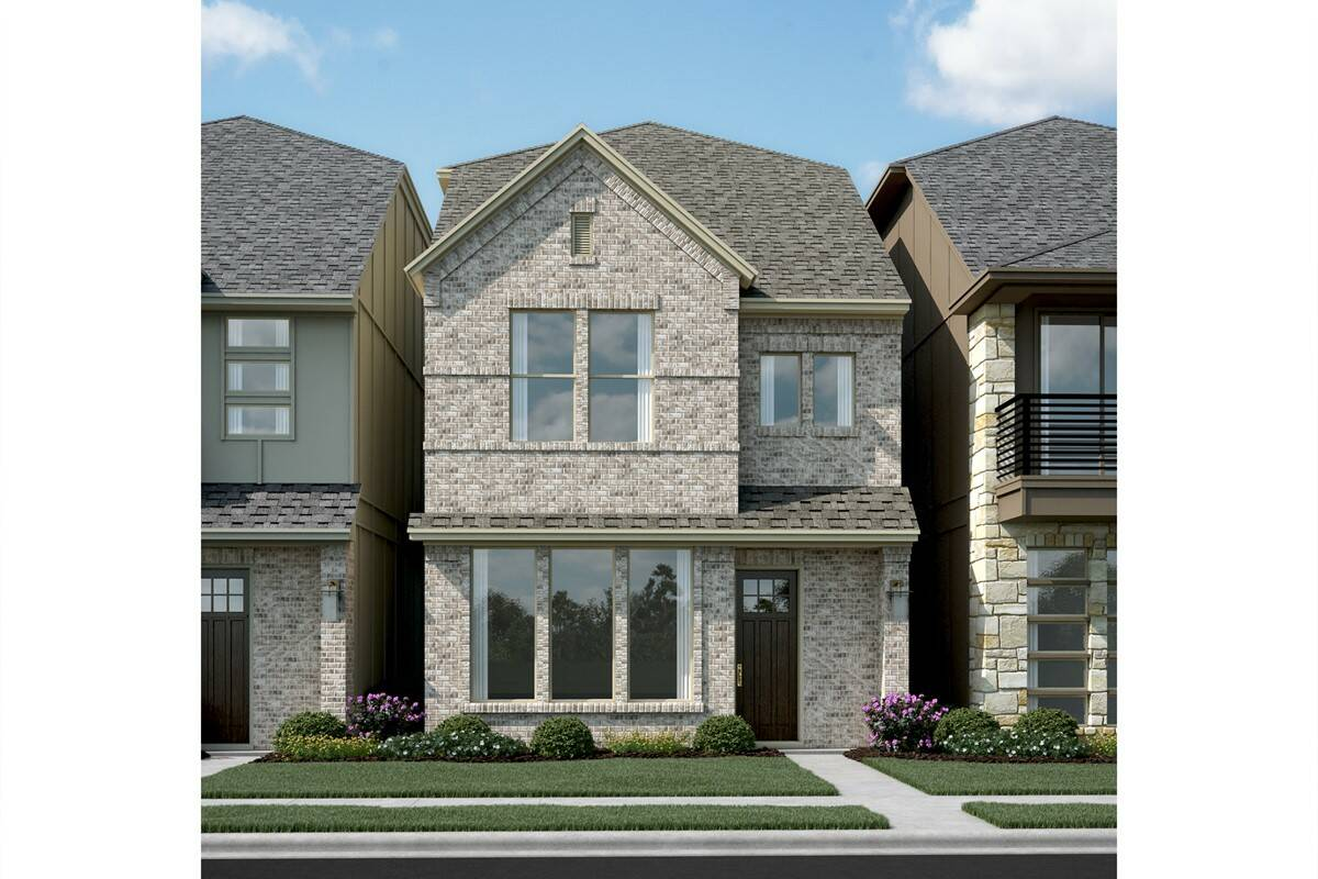 Majestic II R new homes dallas tx