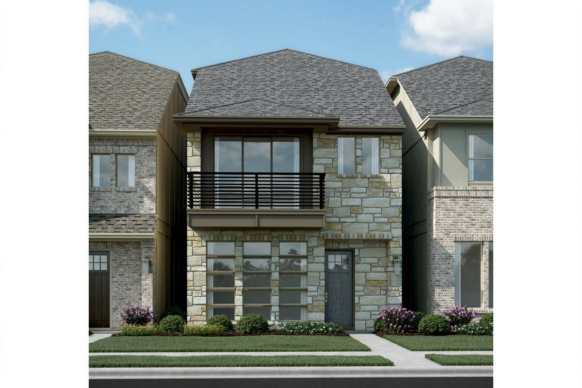Majestic II T new homes dallas tx
