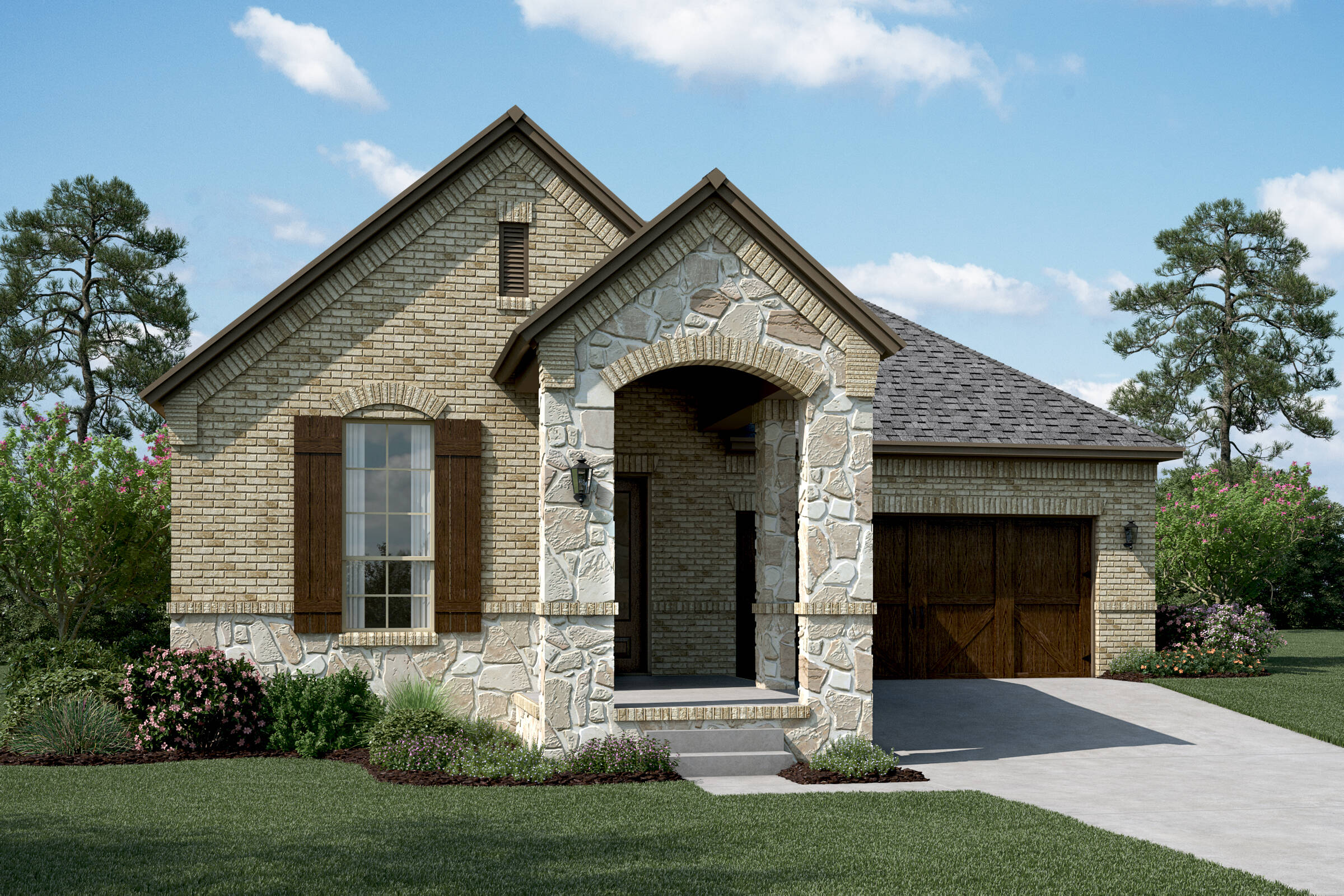 Malibu B Stone new homes dallas tx