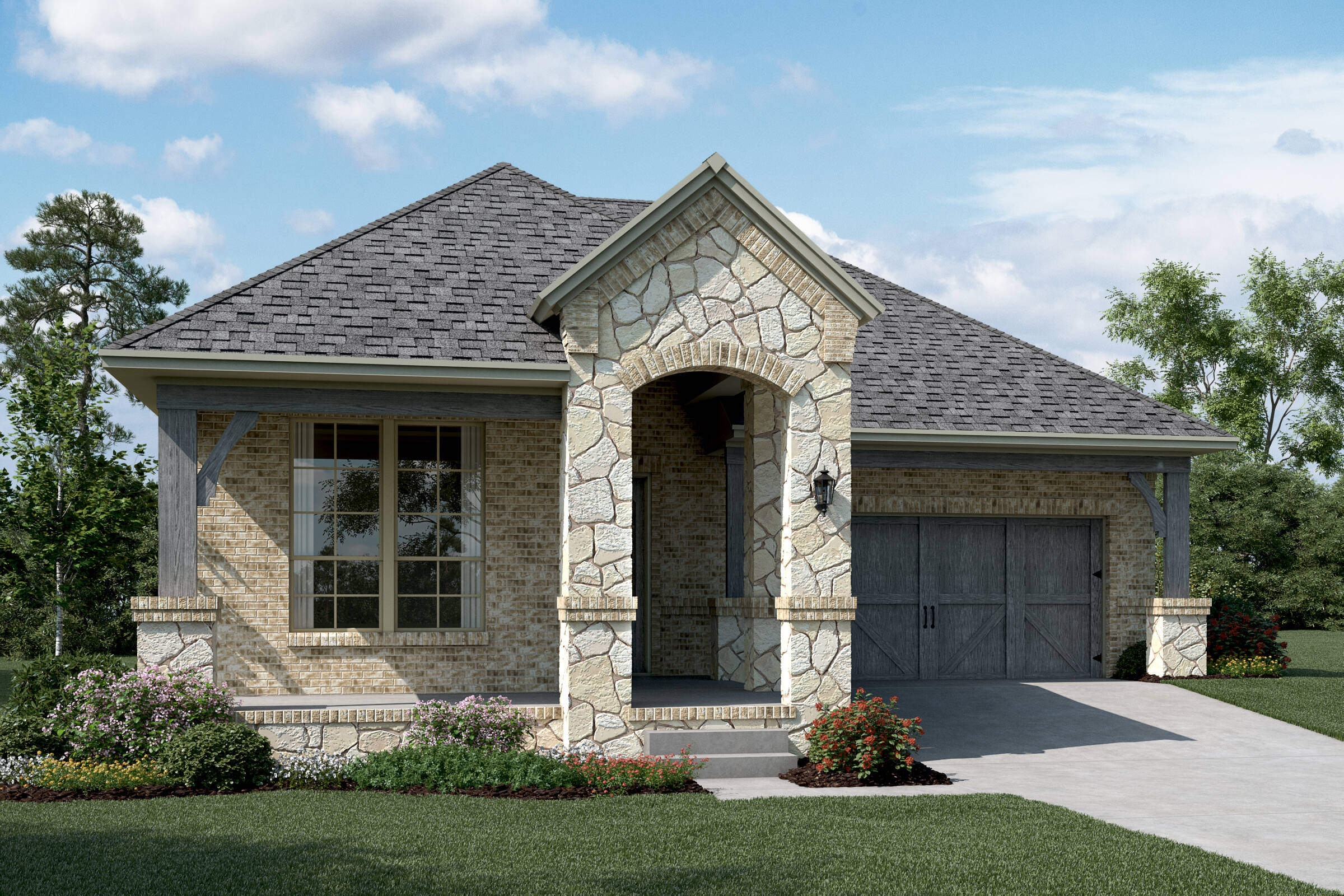Malibu C Stone new homes dallas tx
