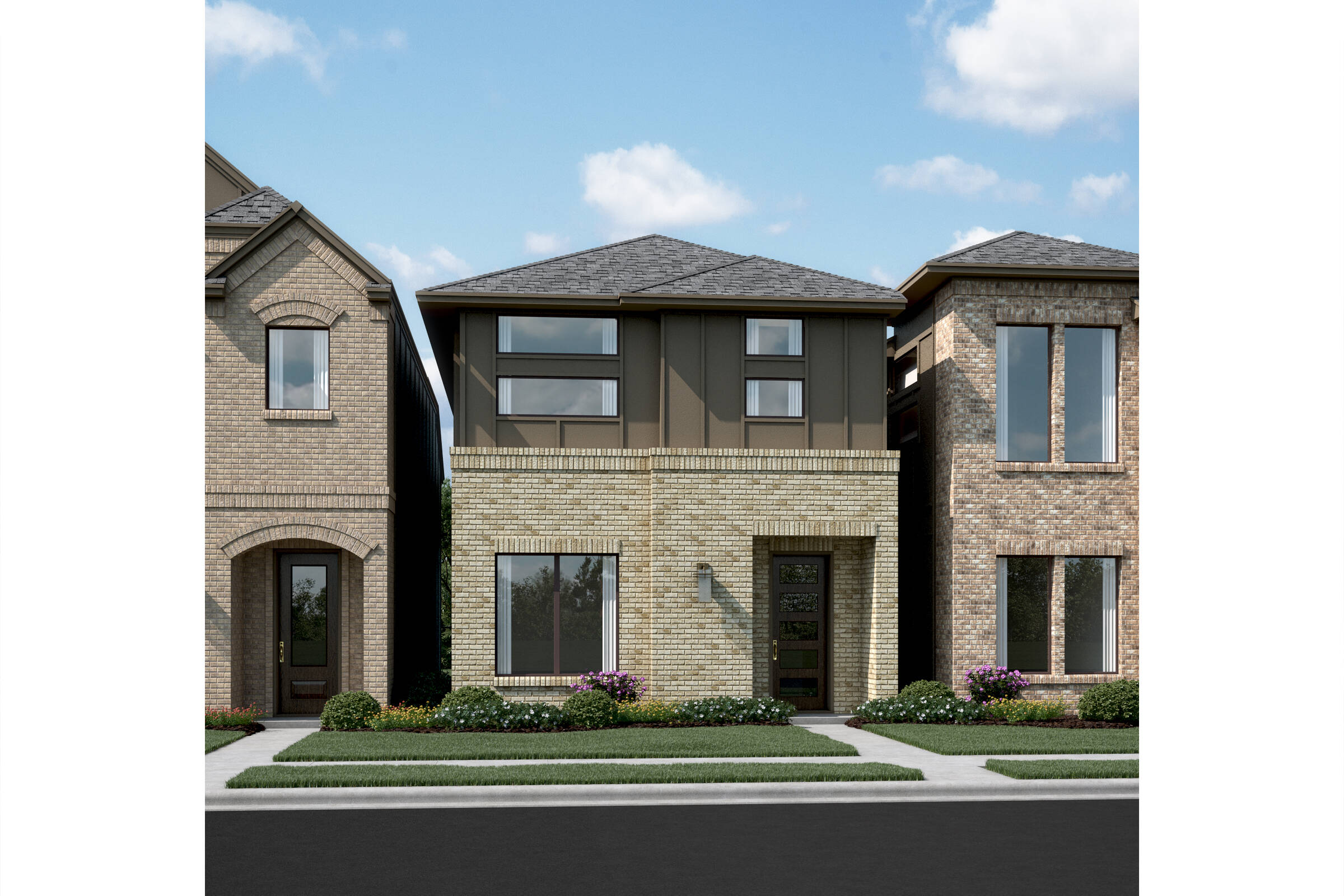 Maplewood T new homes dallas texas