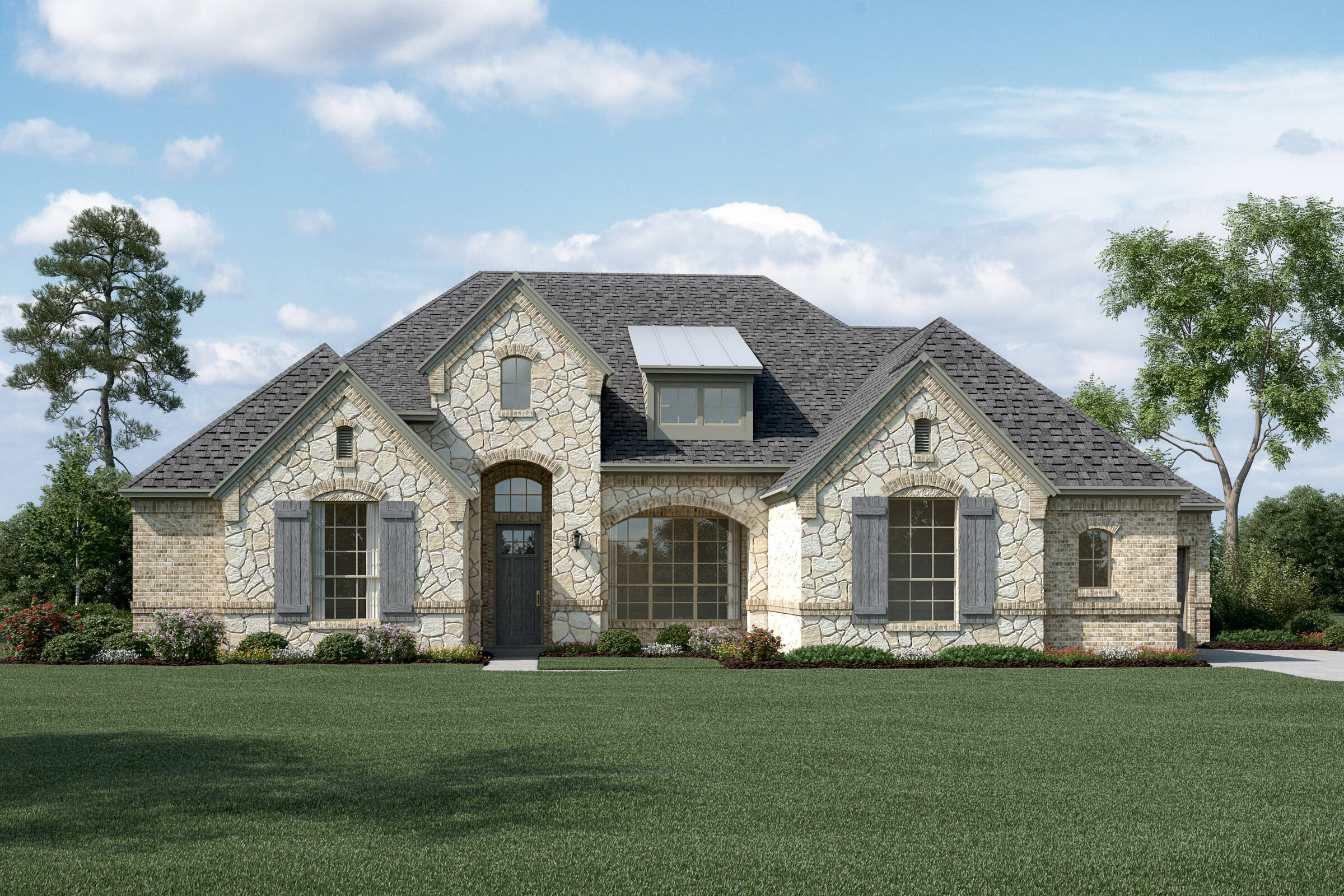 Montclair L Stone new homes dallas tx