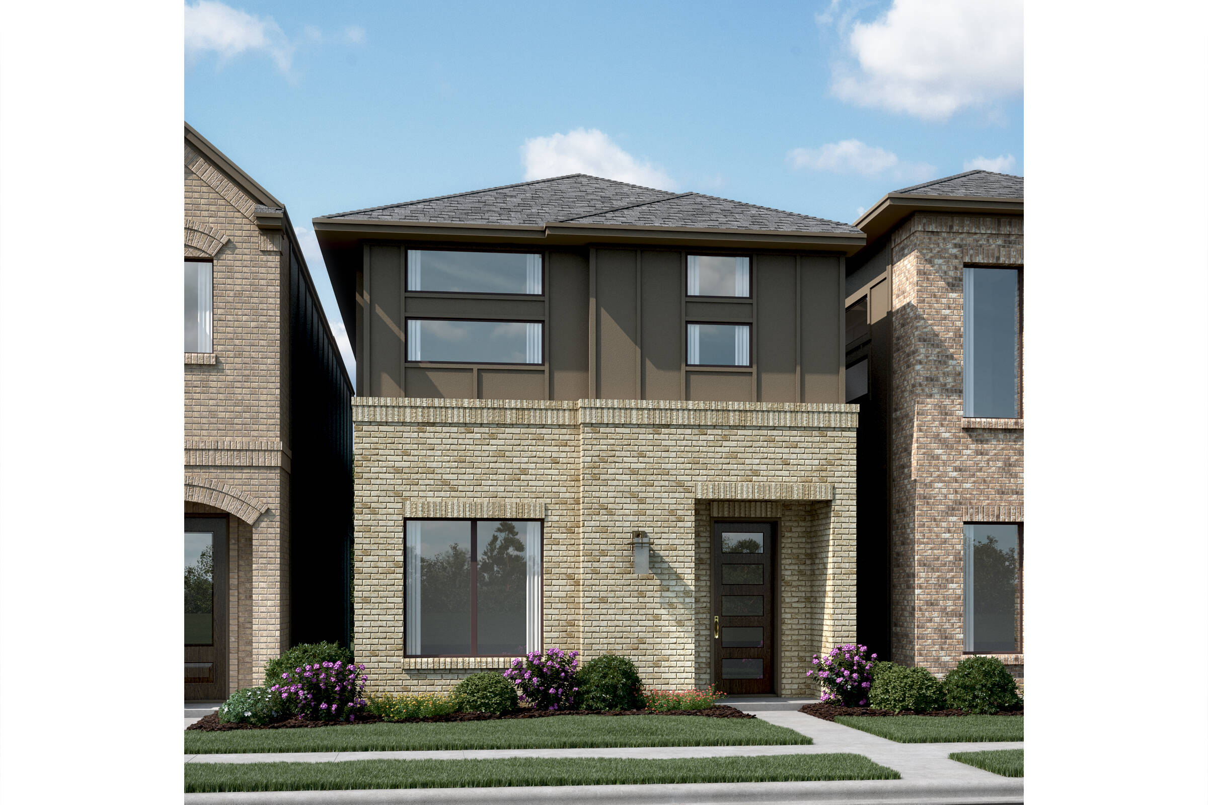 Monticello T new homes dallas texas