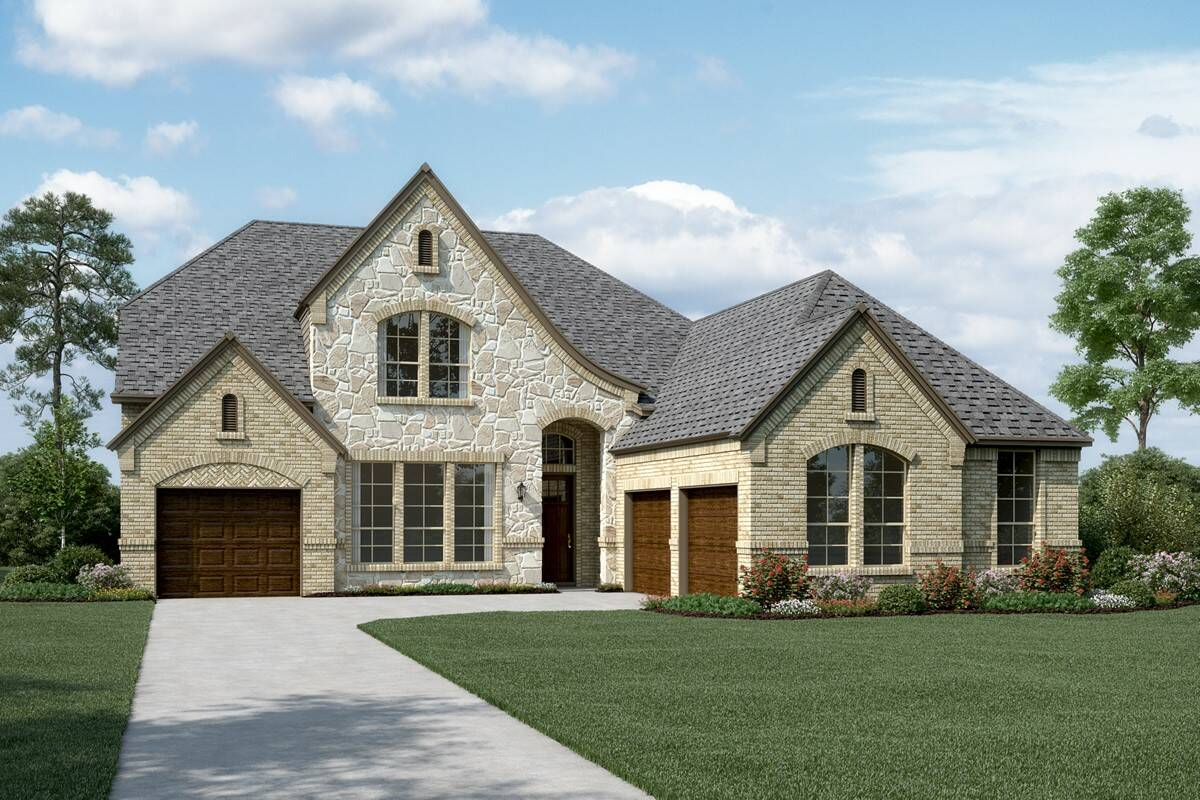Pinnacle L Stone new homes dallas tx
