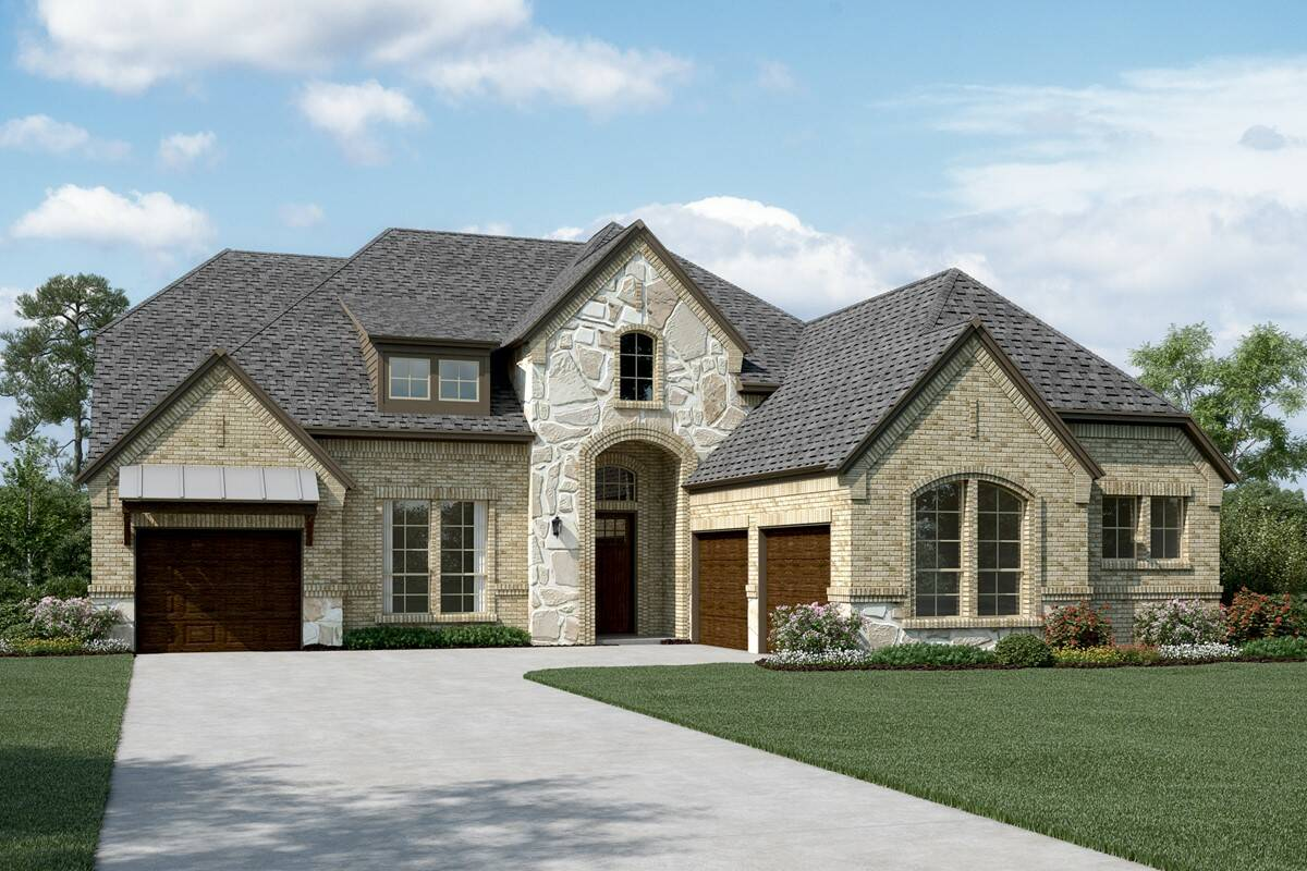 Primrose II L Stone new homes dallas tx