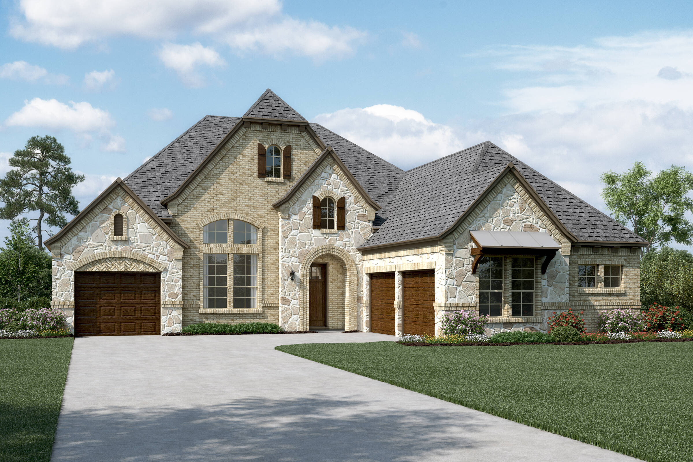Primrose L Stone new homes dallas tx