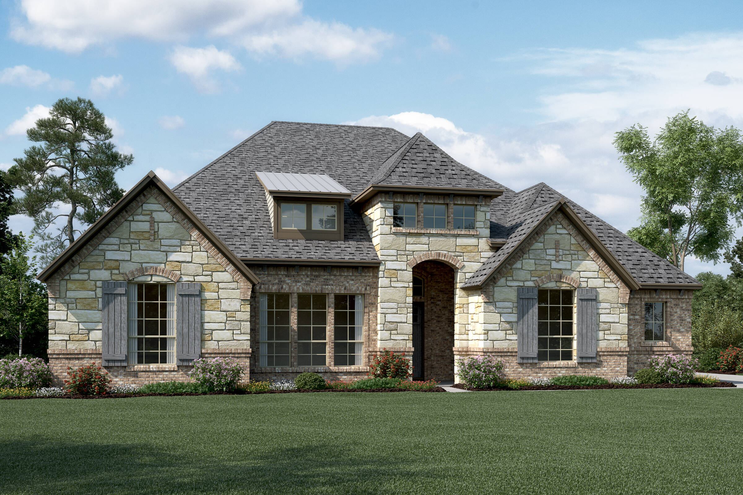 Ravenwood L Stone new homes dallas tx