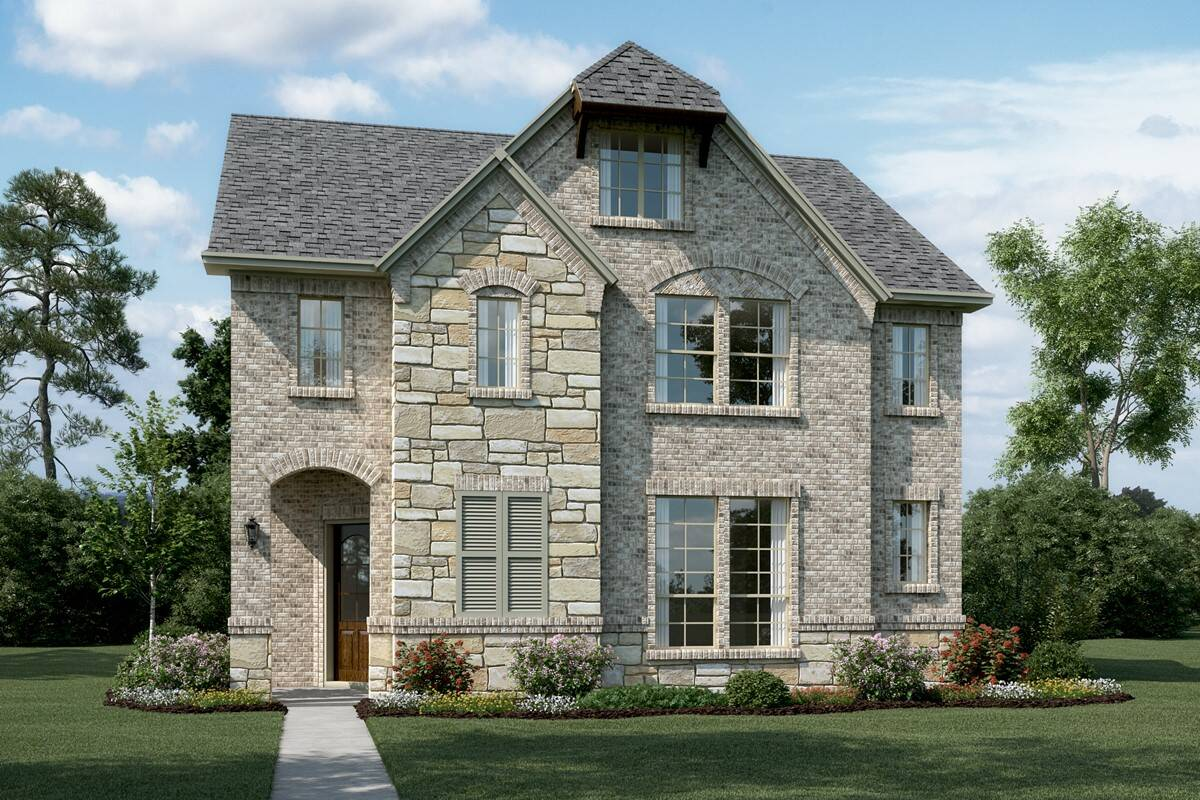 Riverchase-II-T-Stone-Elev-new-homes-near-dallas-tx