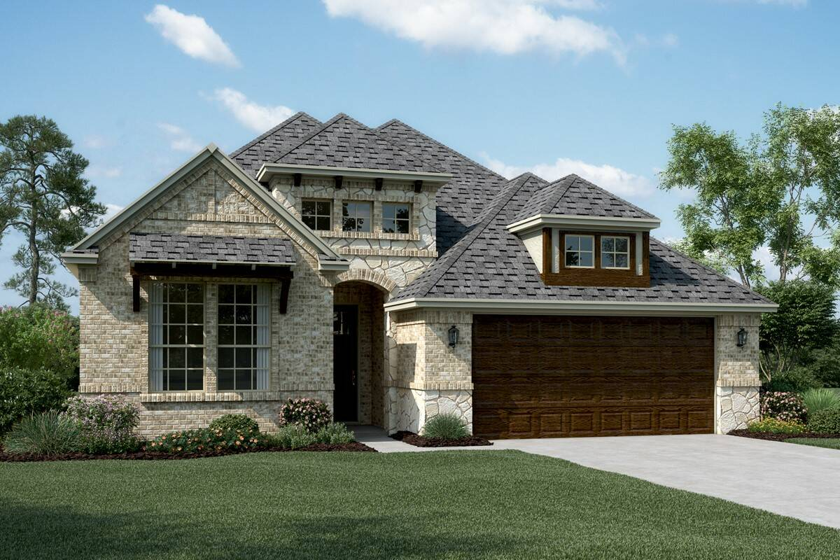 Riverdale II B Stone new homes dallas tx