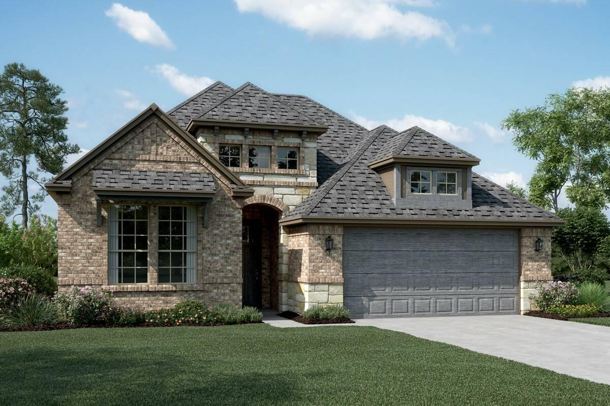 Riverdale B Stone new homes dallas tx