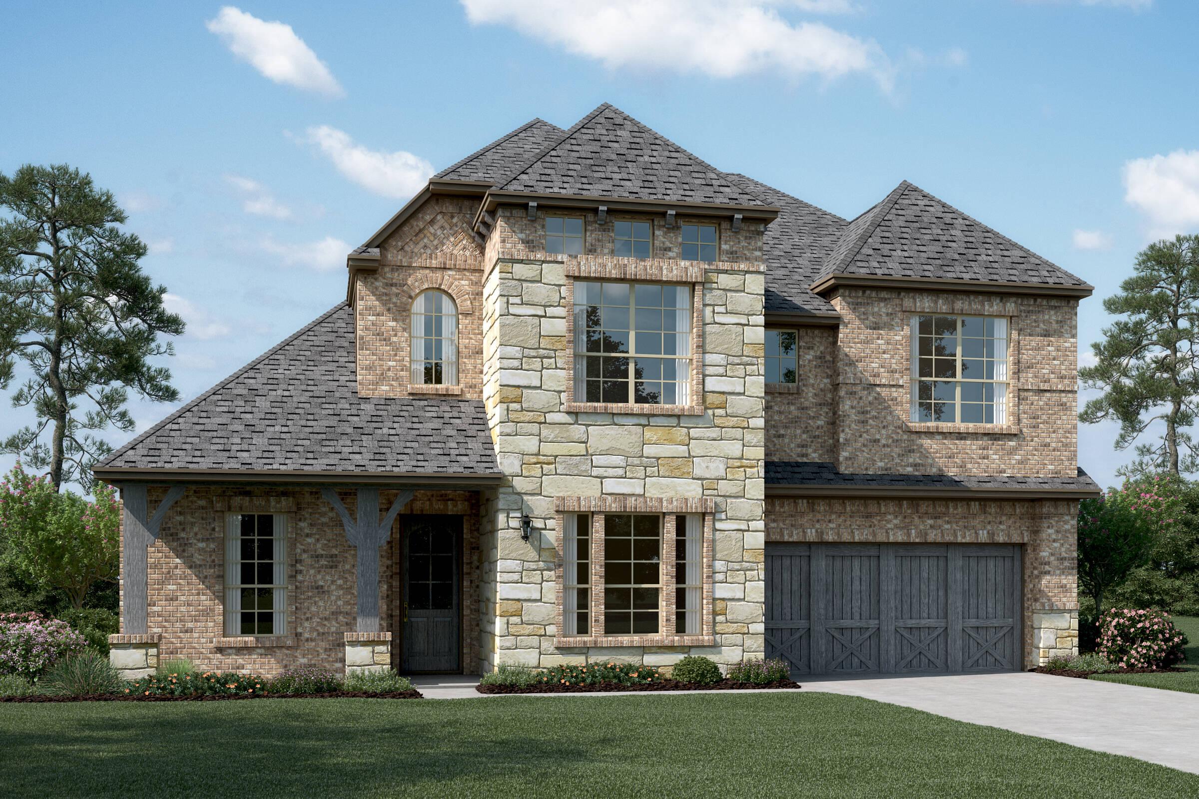 Rosemeade III E Stone new homes dallas tx