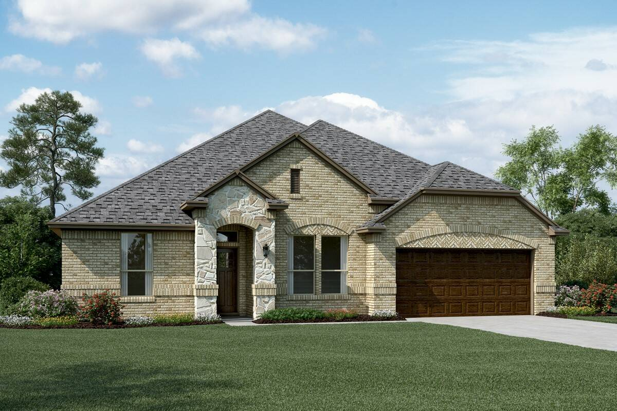 Sanderson II C Stone new homes dallas tx