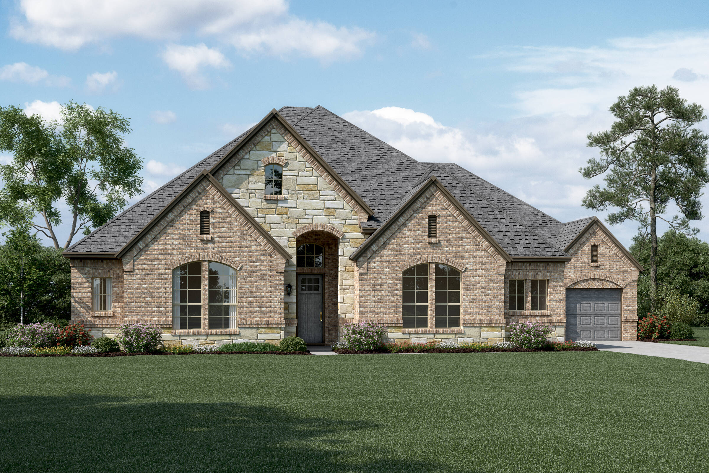 Sinclair L Stone new homes dallas tx