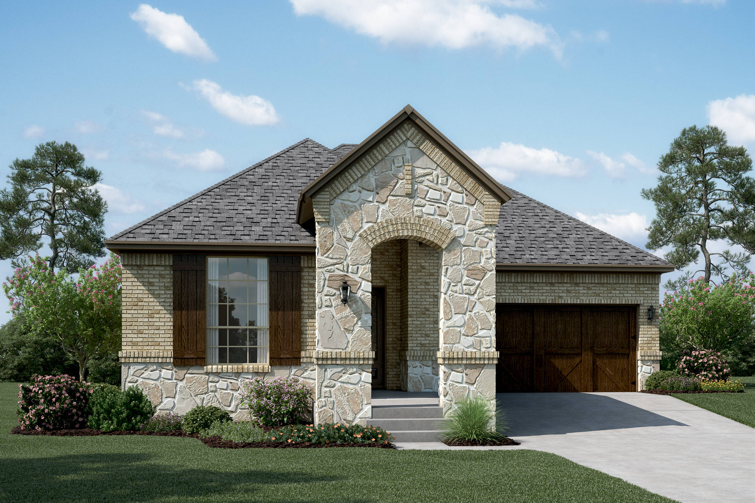 Sonoma B Stone new homes dallas tx