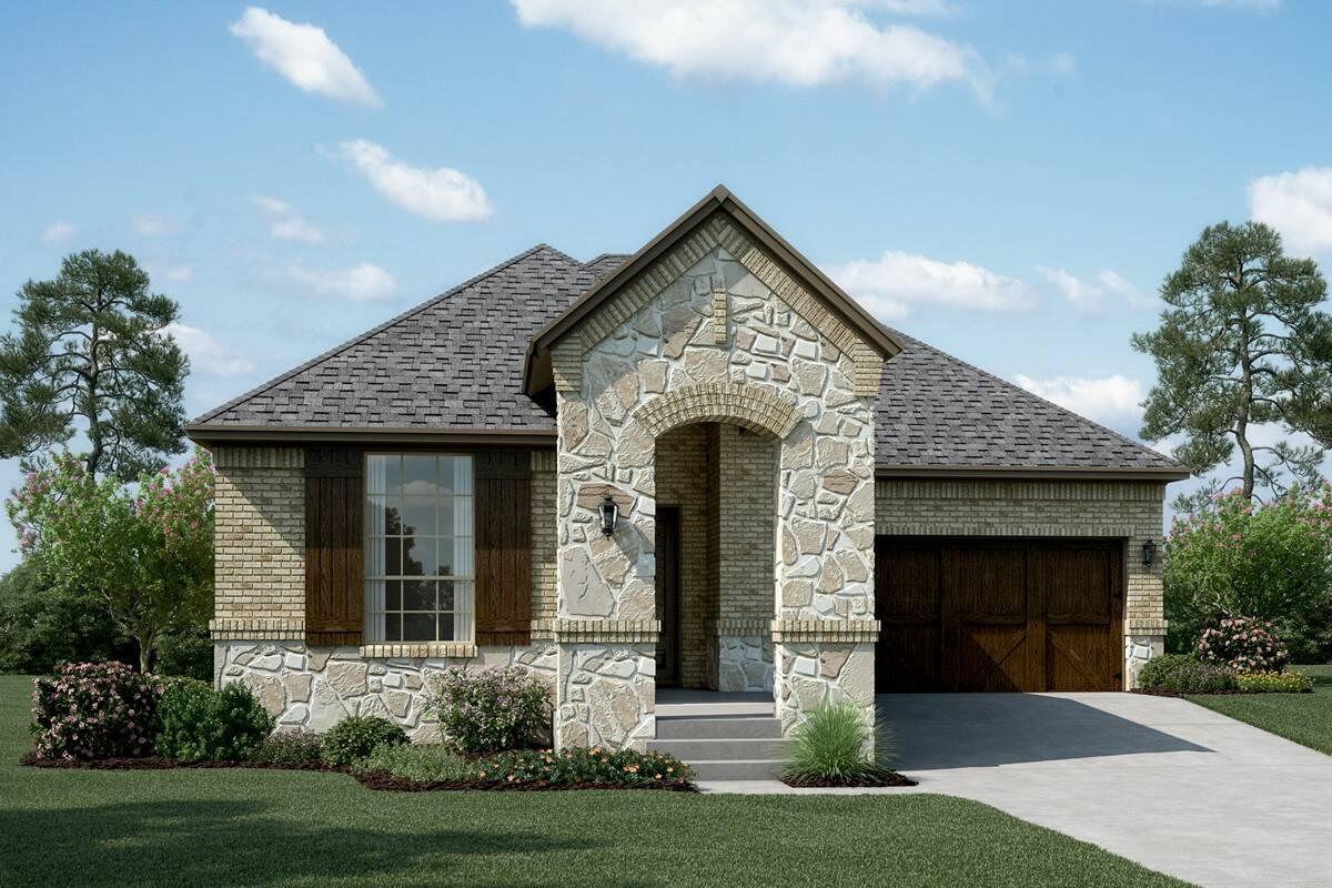 Sonoma B Stone new homes dallas tx