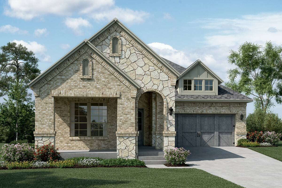 Sonoma C Stone new homes dallas tx