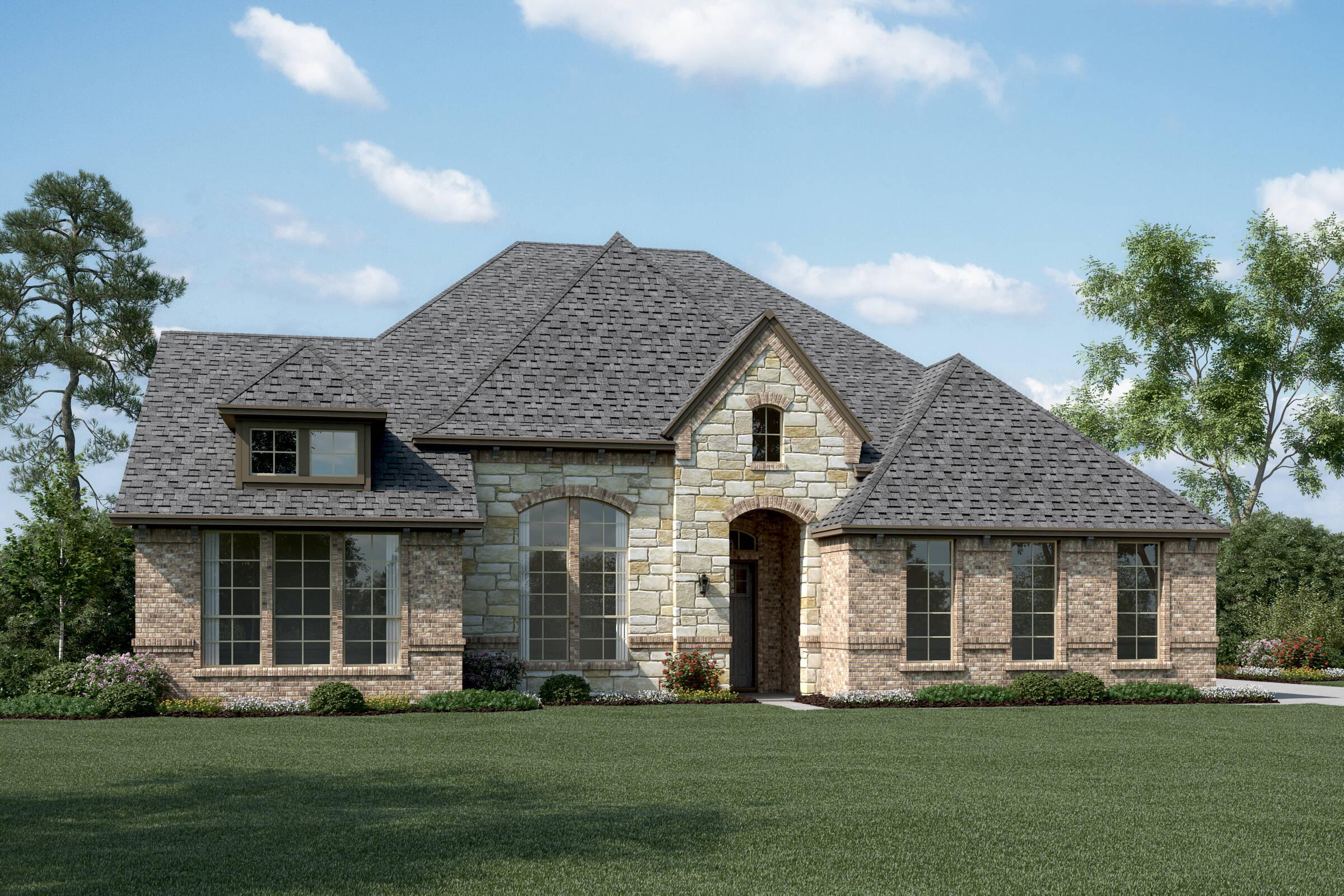 Springfield L Stone new homes dallas tx