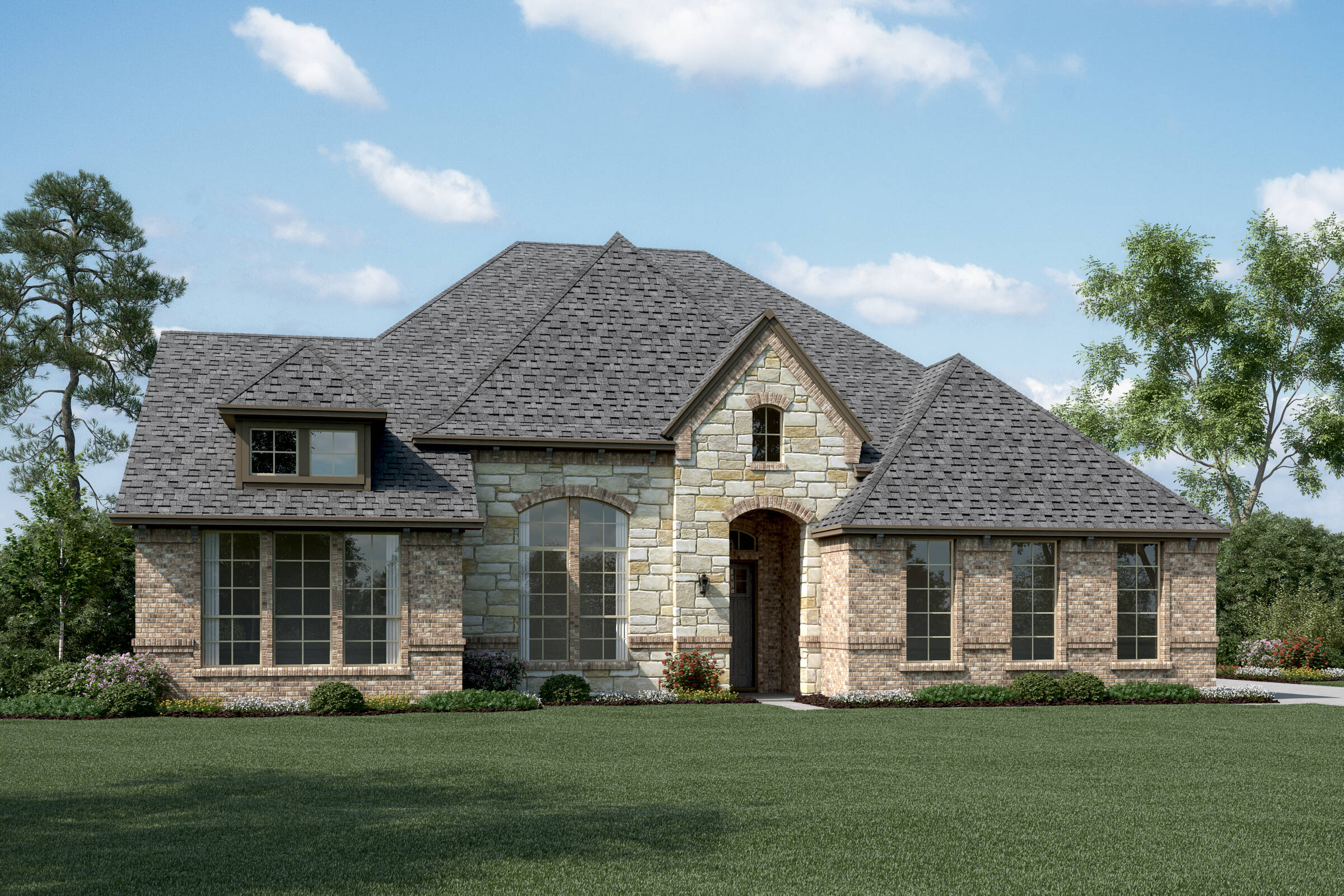 Springfield L Stone new homes dallas tx