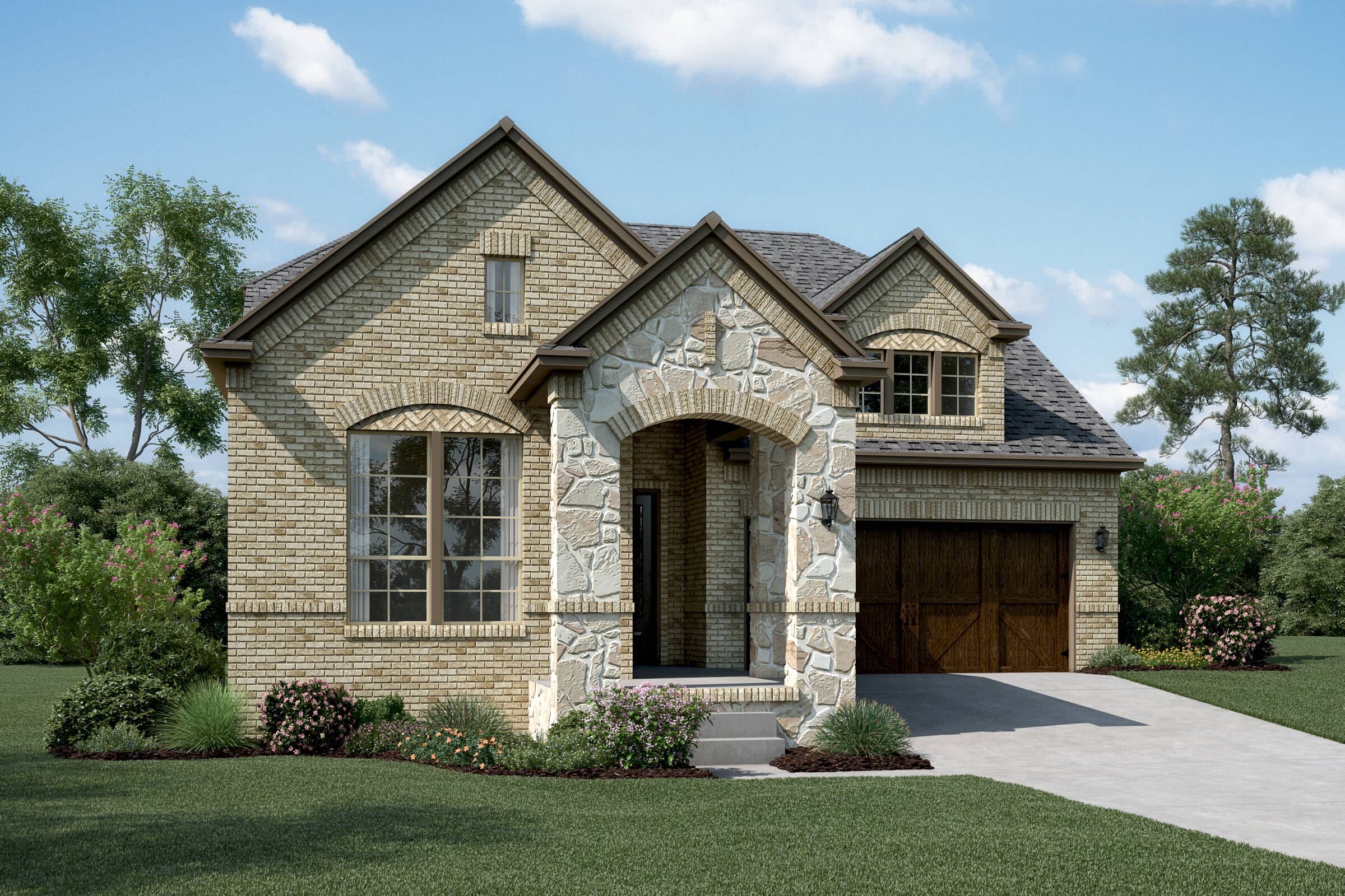 St. Augustine B Stone new homes dallas tx