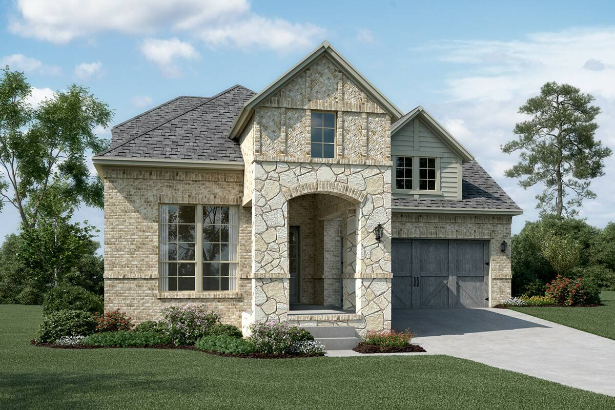 St. Augustine C Stone new homes dallas tx