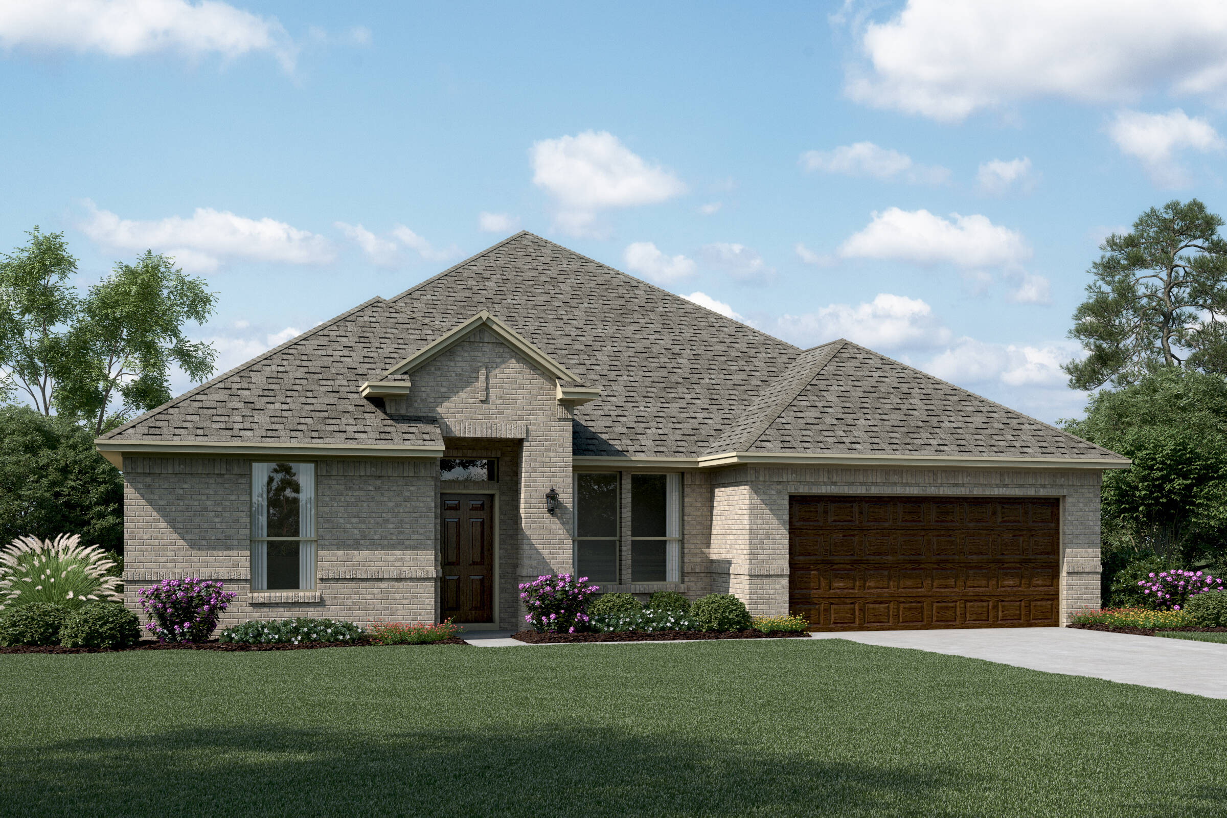 Sterling II A new homes dallas tx